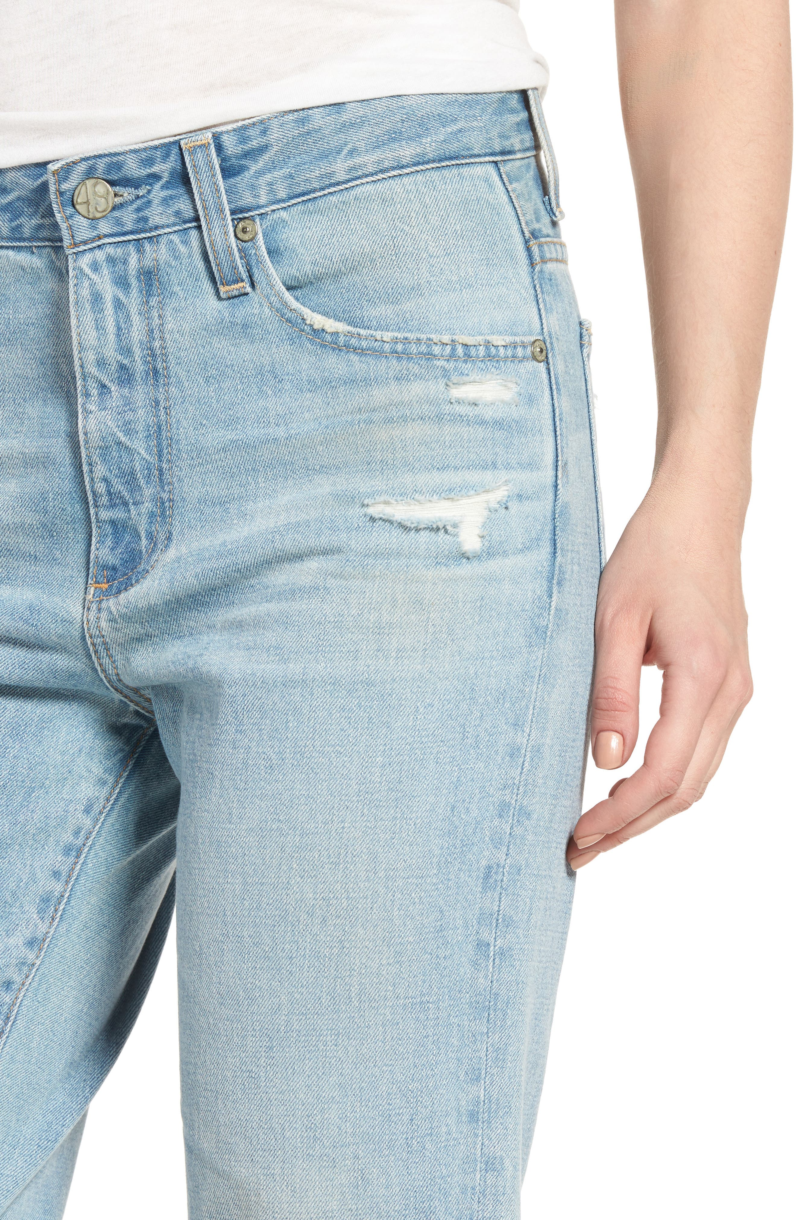 The Rhett Vintage High Waist Crop Jeans,                             Alternate thumbnail 12, color,