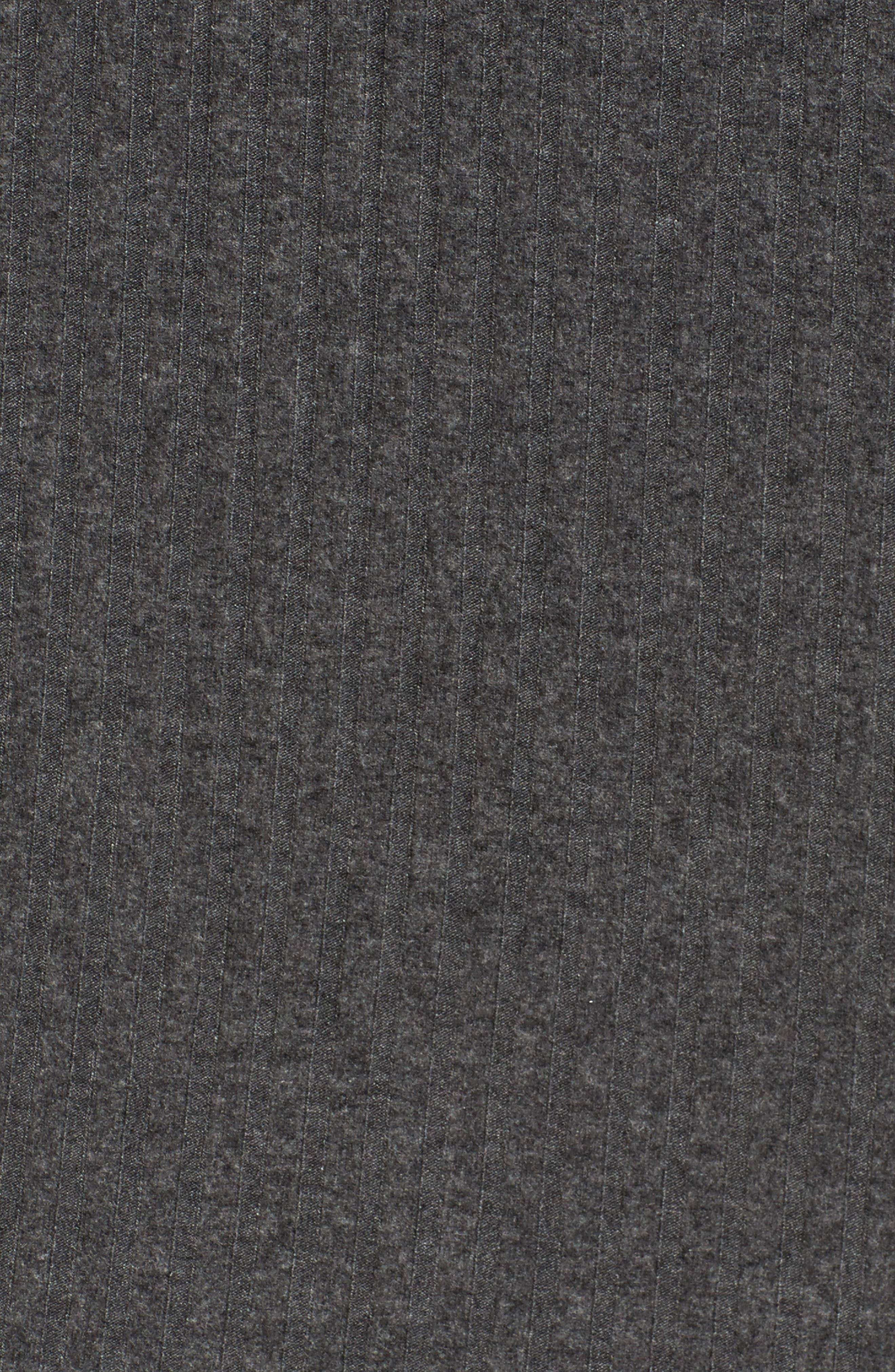 Cold Shoulder Hoodie Dress,                             Alternate thumbnail 5, color,                             020