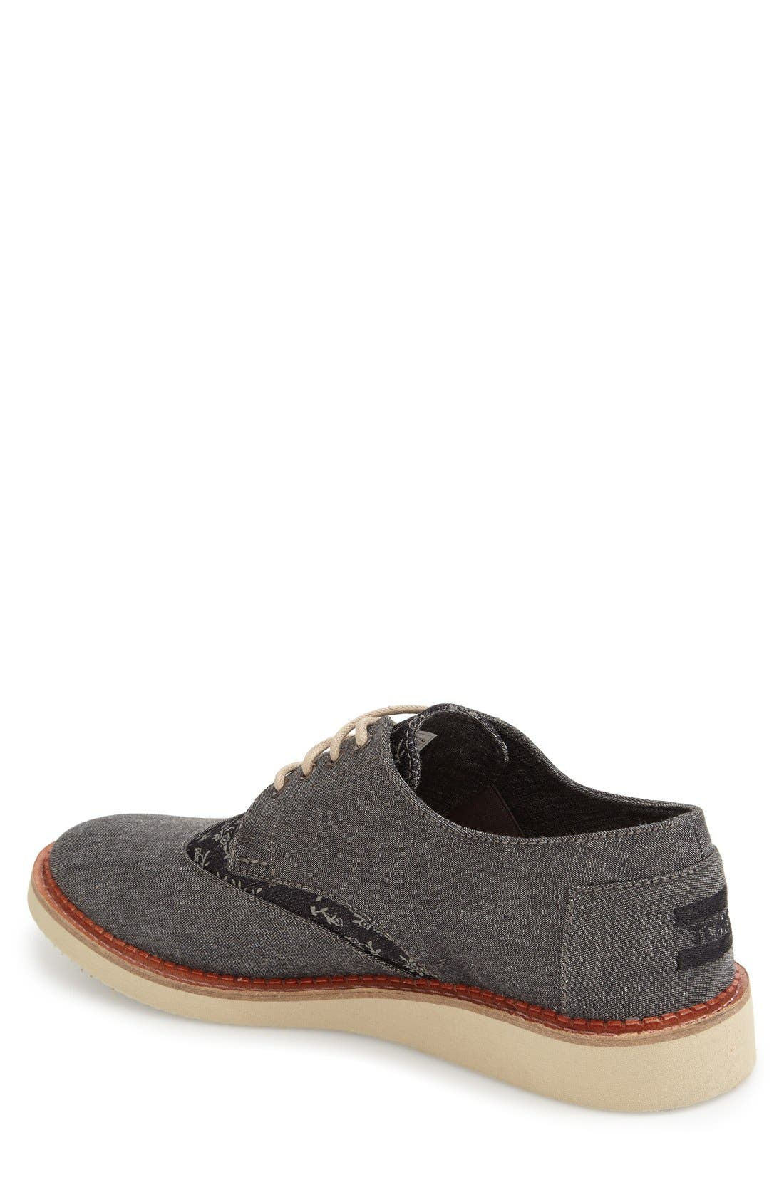 'Classic Brogue' Cotton Twill Derby,                             Alternate thumbnail 19, color,