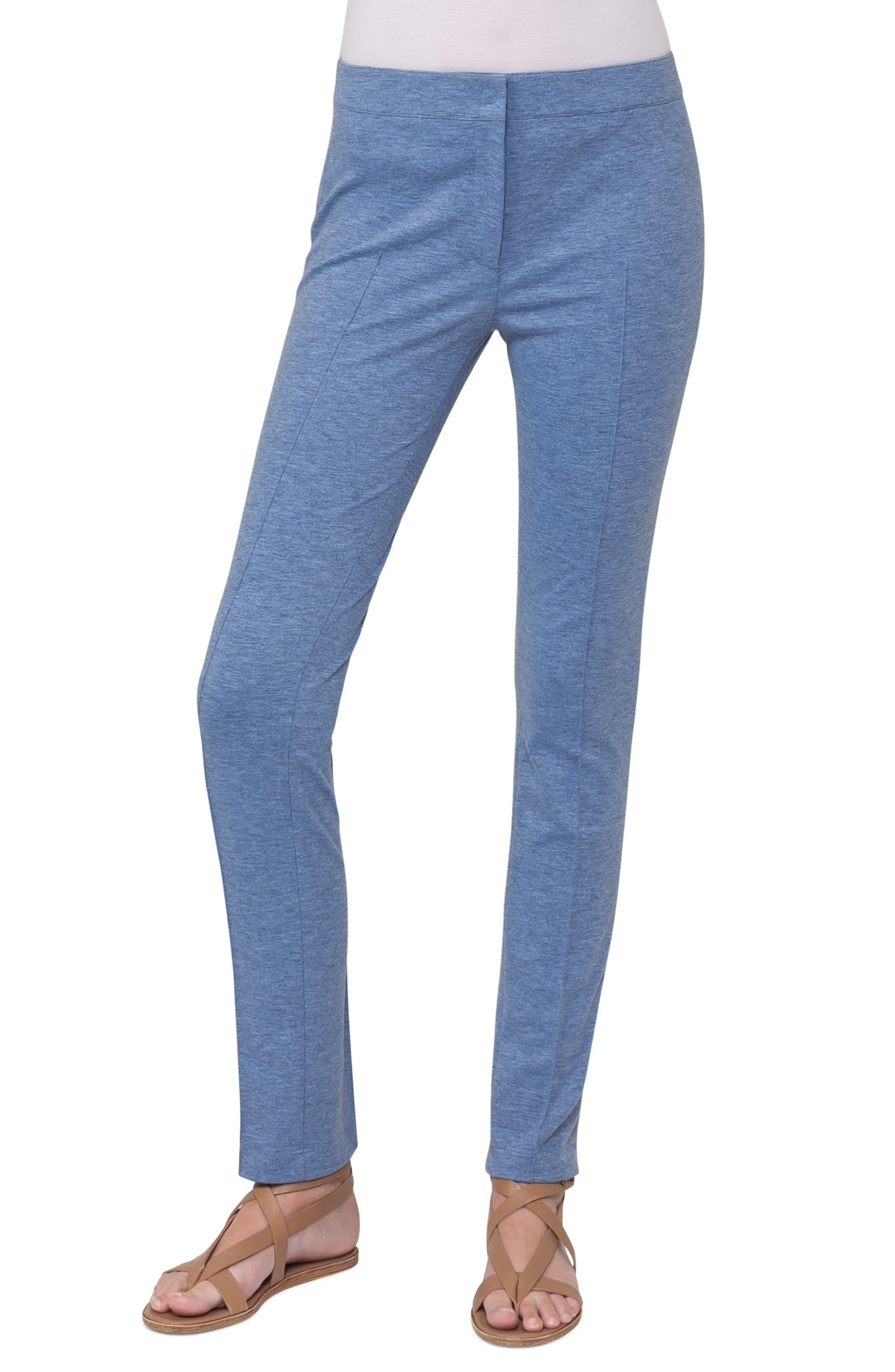 Mara Stretch Jersey Skinny Pants,                             Main thumbnail 2, color,