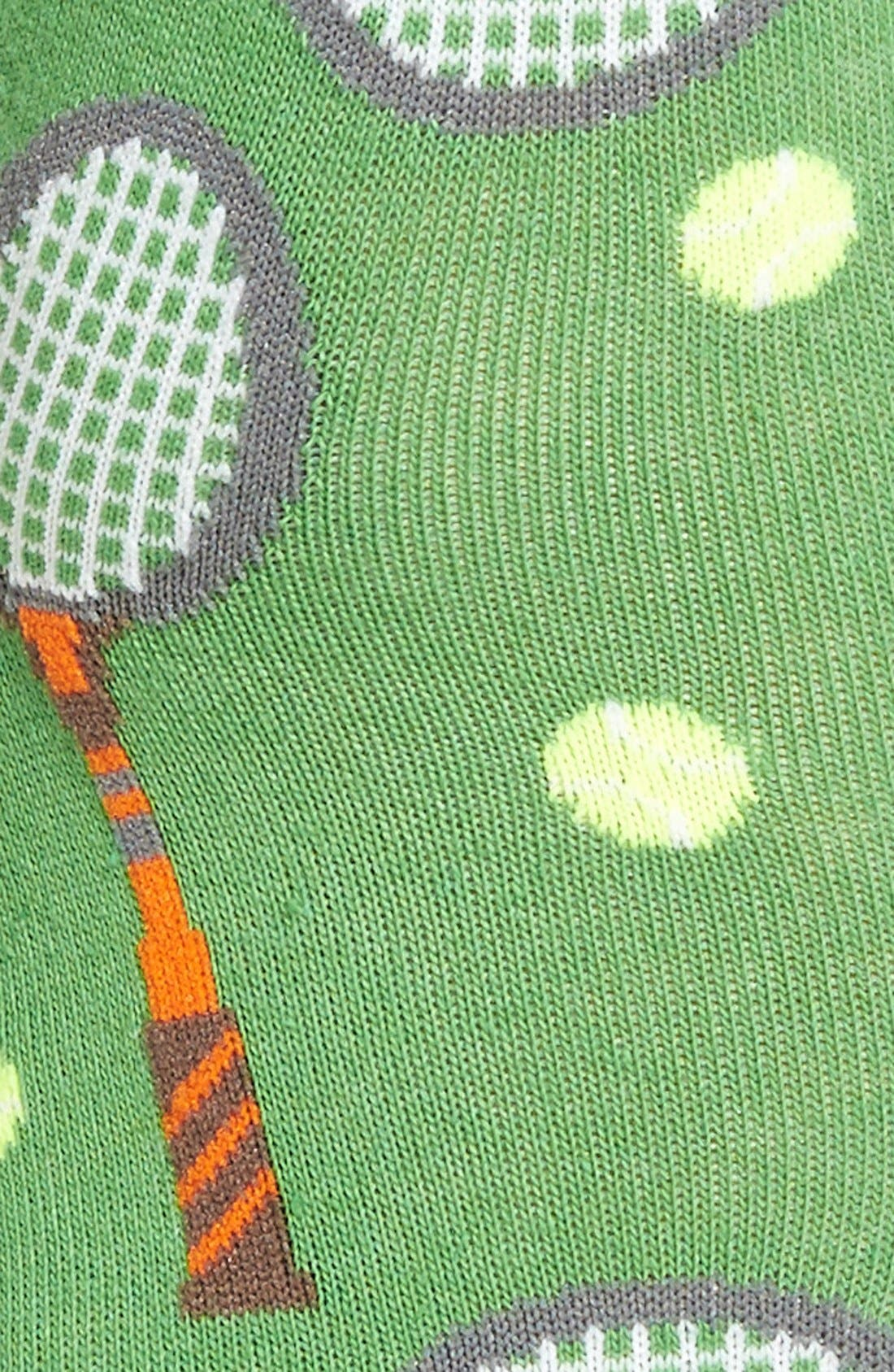 HOT SOX,                             'Tennis' Crew Socks,                             Alternate thumbnail 2, color,                             323