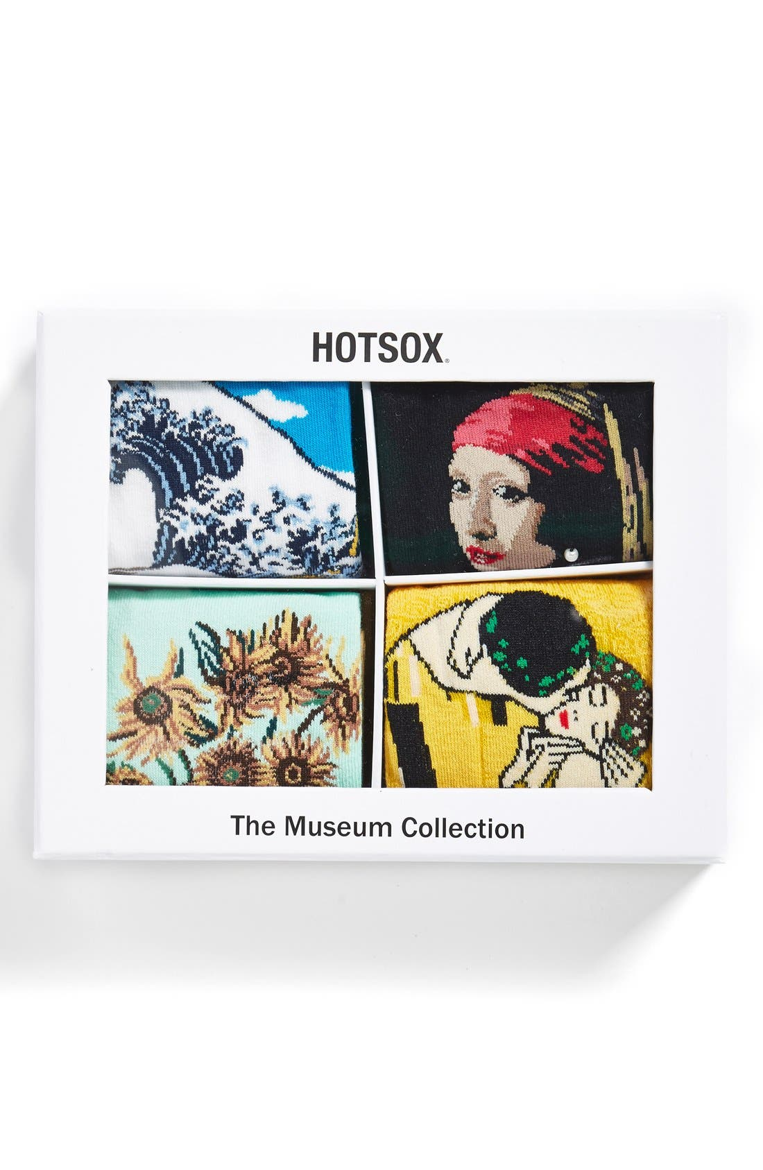 'Museum Collection' Boxed Socks,                             Main thumbnail 1, color,                             003