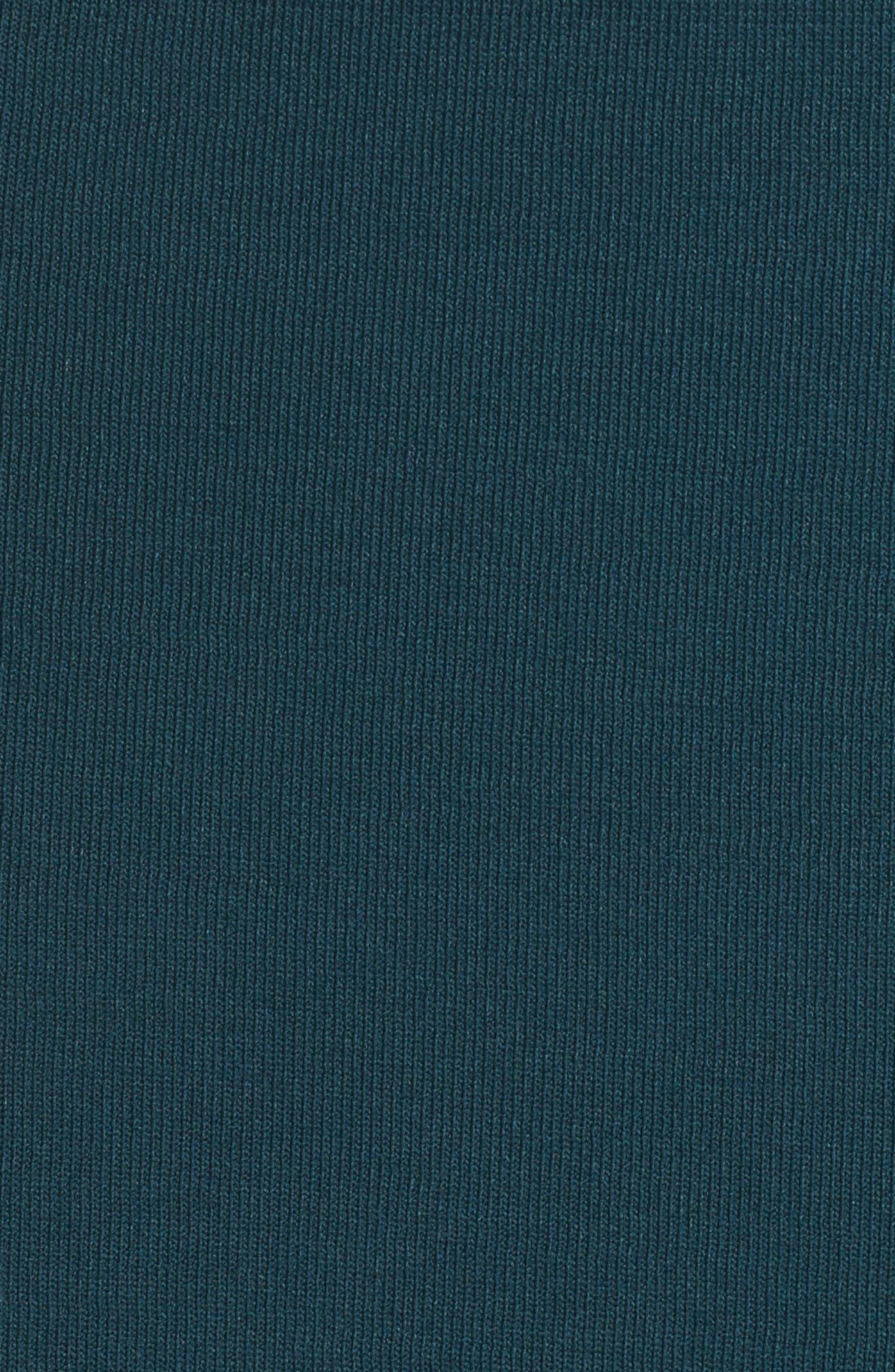 Cold Shoulder Turtleneck Dress,                             Alternate thumbnail 5, color,
