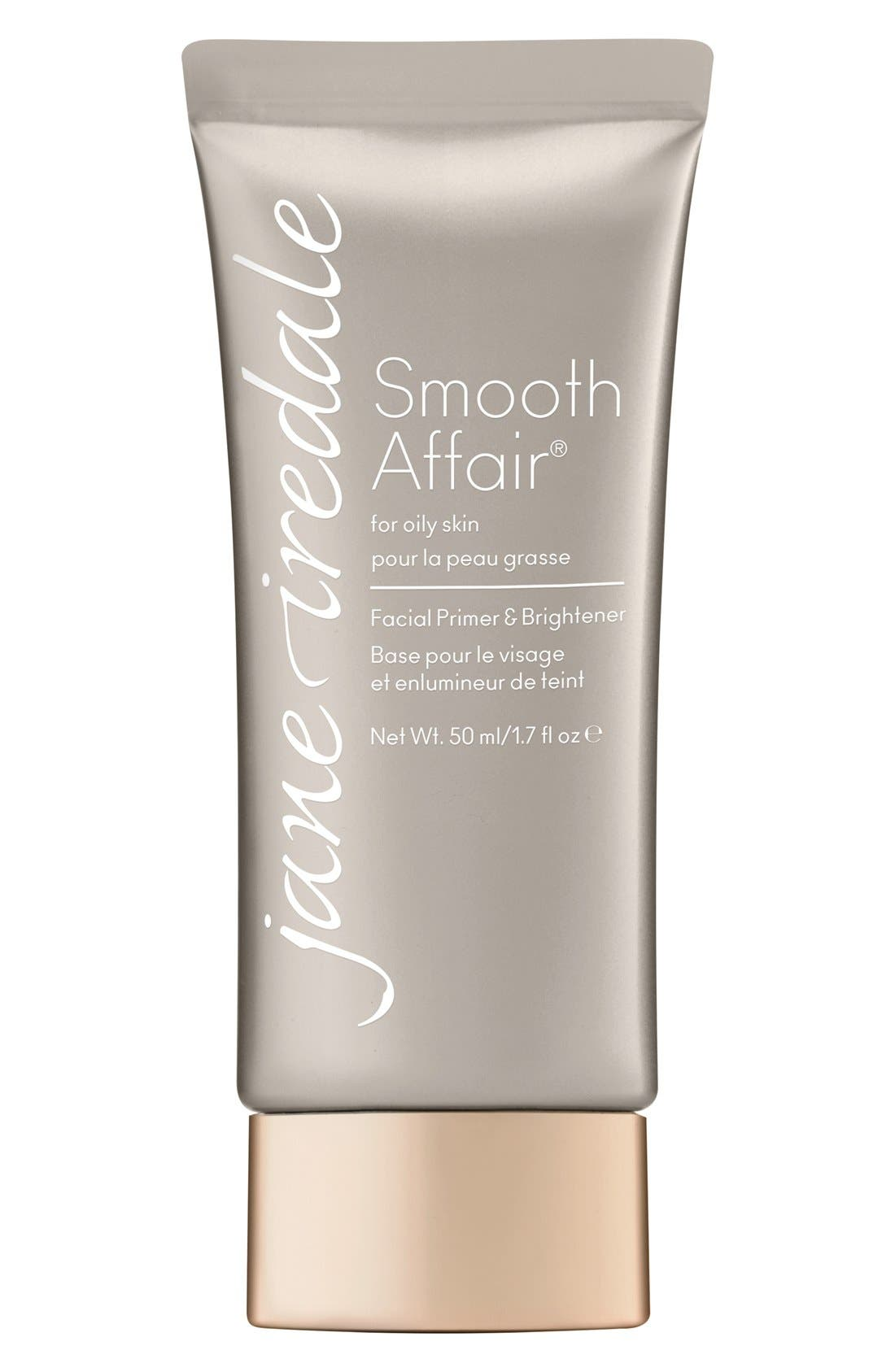 Smooth Affair<sup>™</sup> Facial Primer & Brightener for Oily Skin,                         Main,                         color, NO COLOR