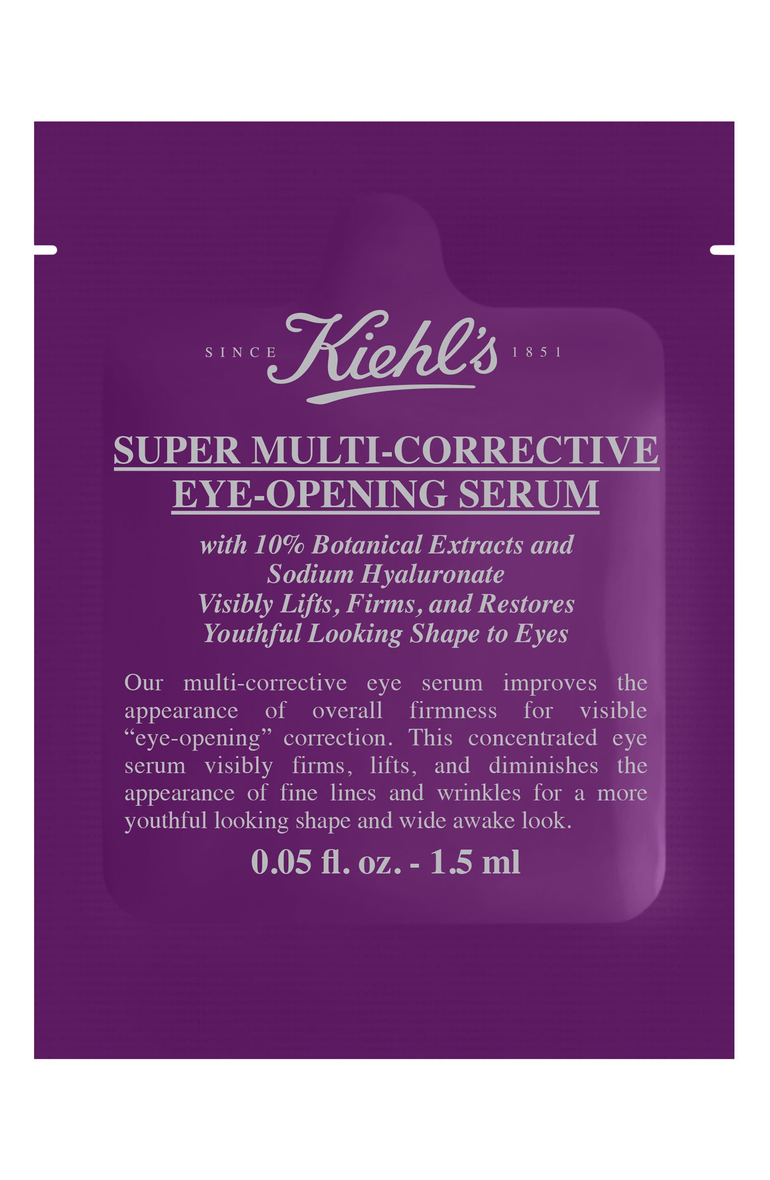 Super Multi-Corrective Eye Opening Serum,                             Alternate thumbnail 4, color,                             NO COLOR