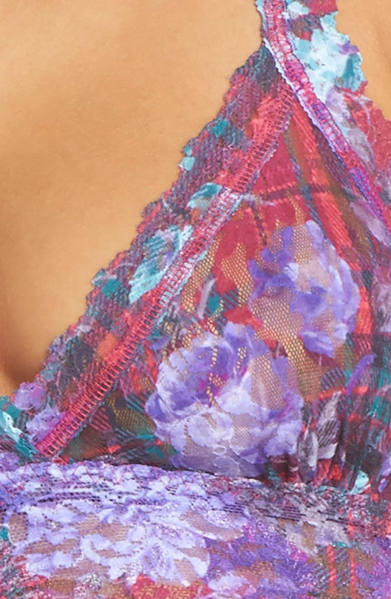 Highland Garden Bralette,                             Alternate thumbnail 4, color,