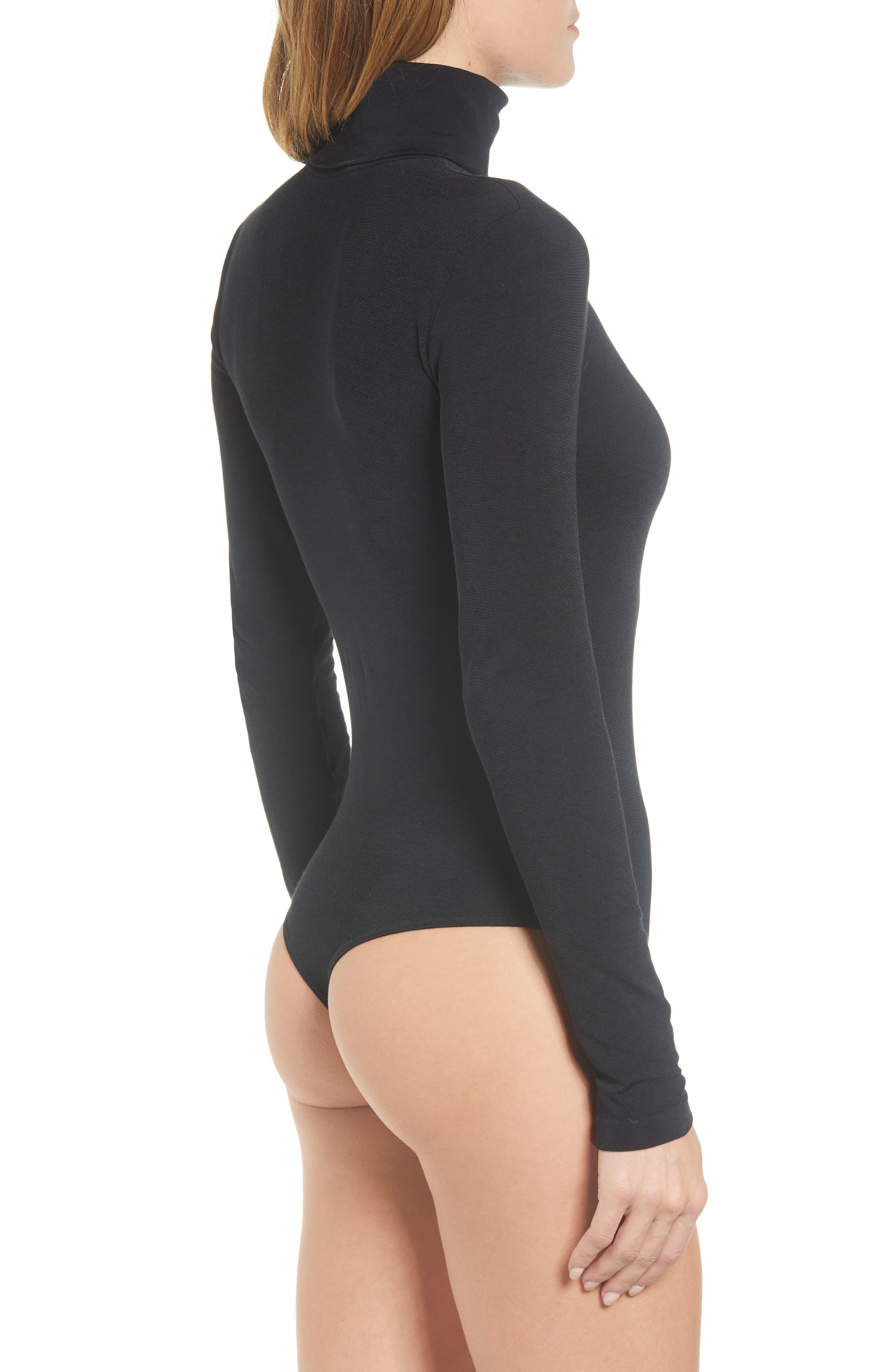 'Colorado' Bodysuit,                             Alternate thumbnail 2, color,                             BLACK