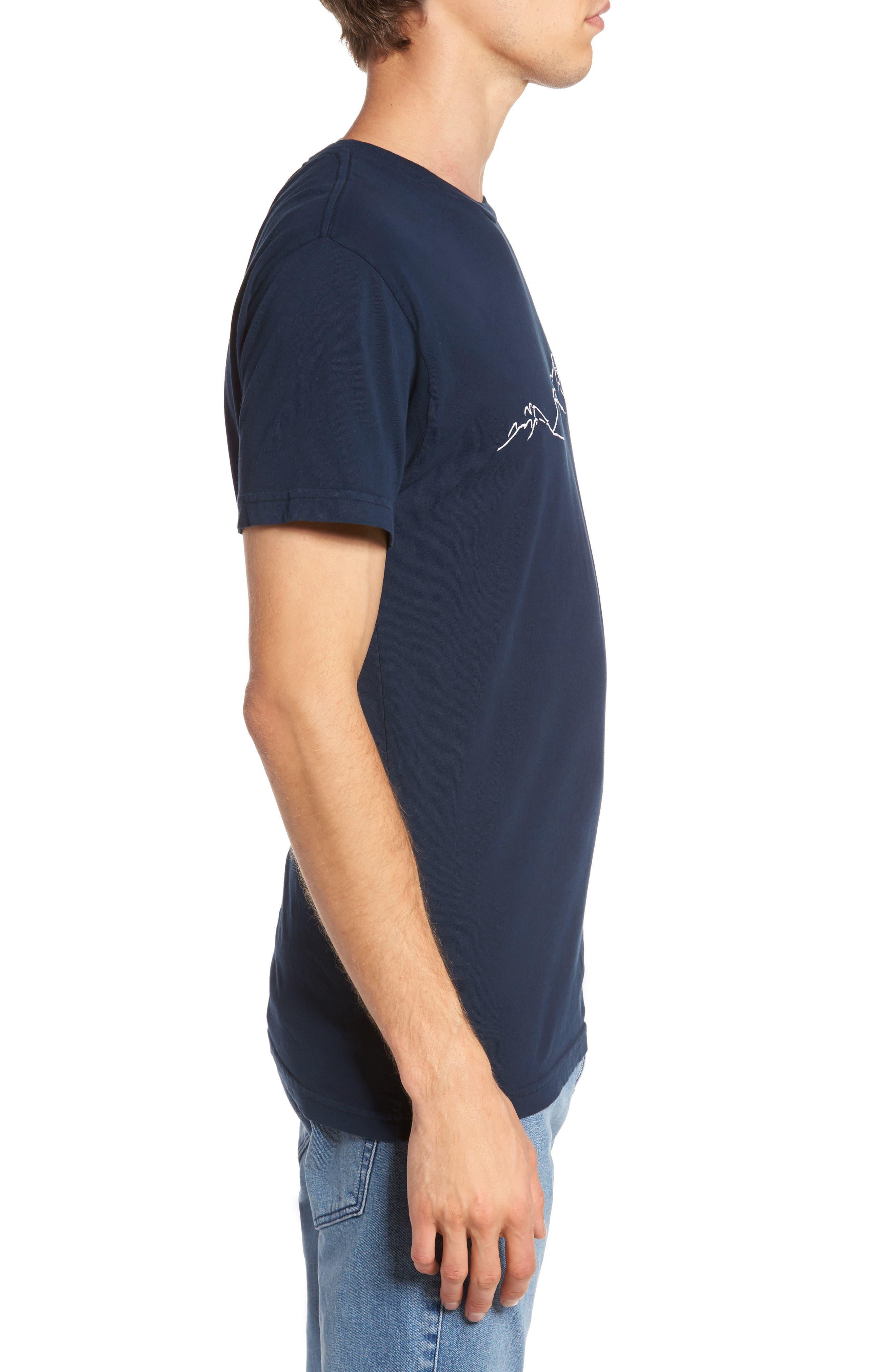 Mountain Sunrise T-Shirt,                             Alternate thumbnail 3, color,                             499