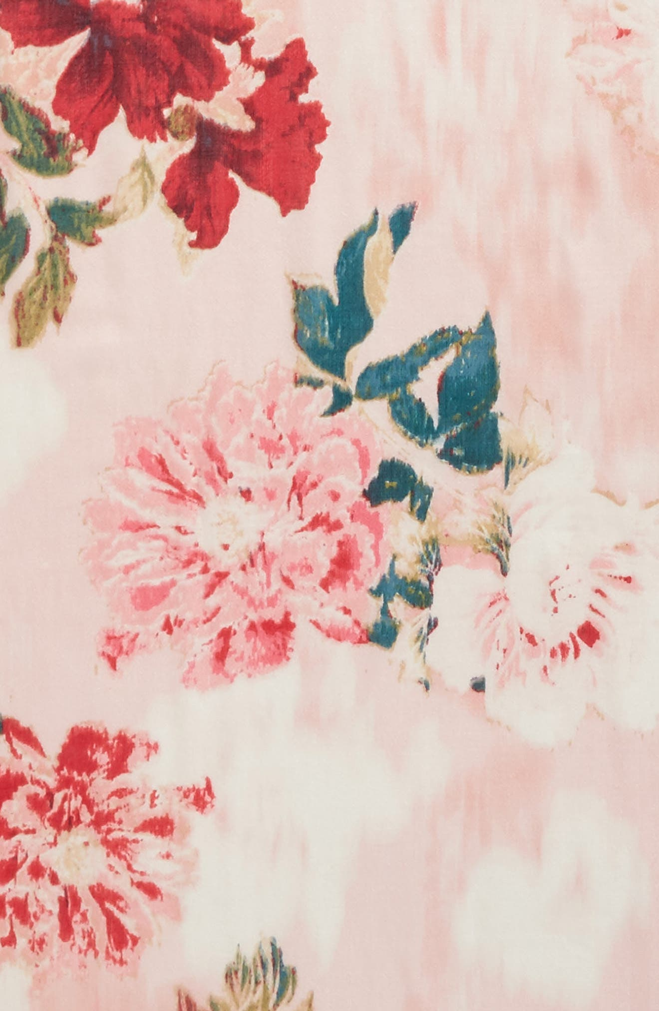 Eyelash Trim Print Cashmere & Silk Wrap,                             Alternate thumbnail 115, color,