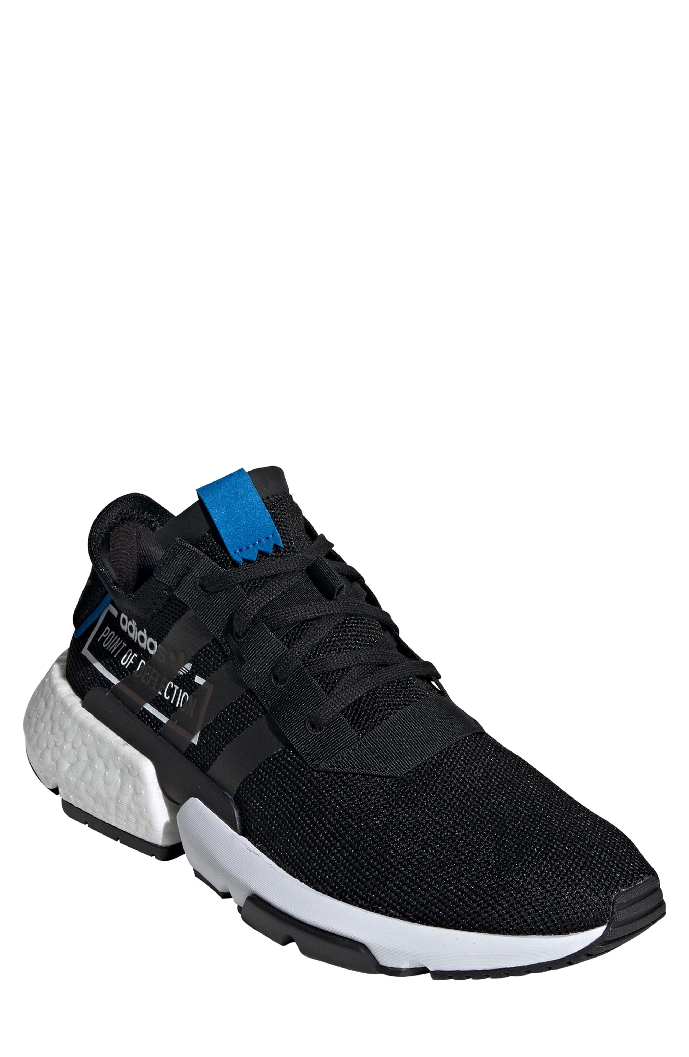 Pod S3.1 Sneaker,                         Main,                         color, BLACK/ BLACK/ BLUEBIRD