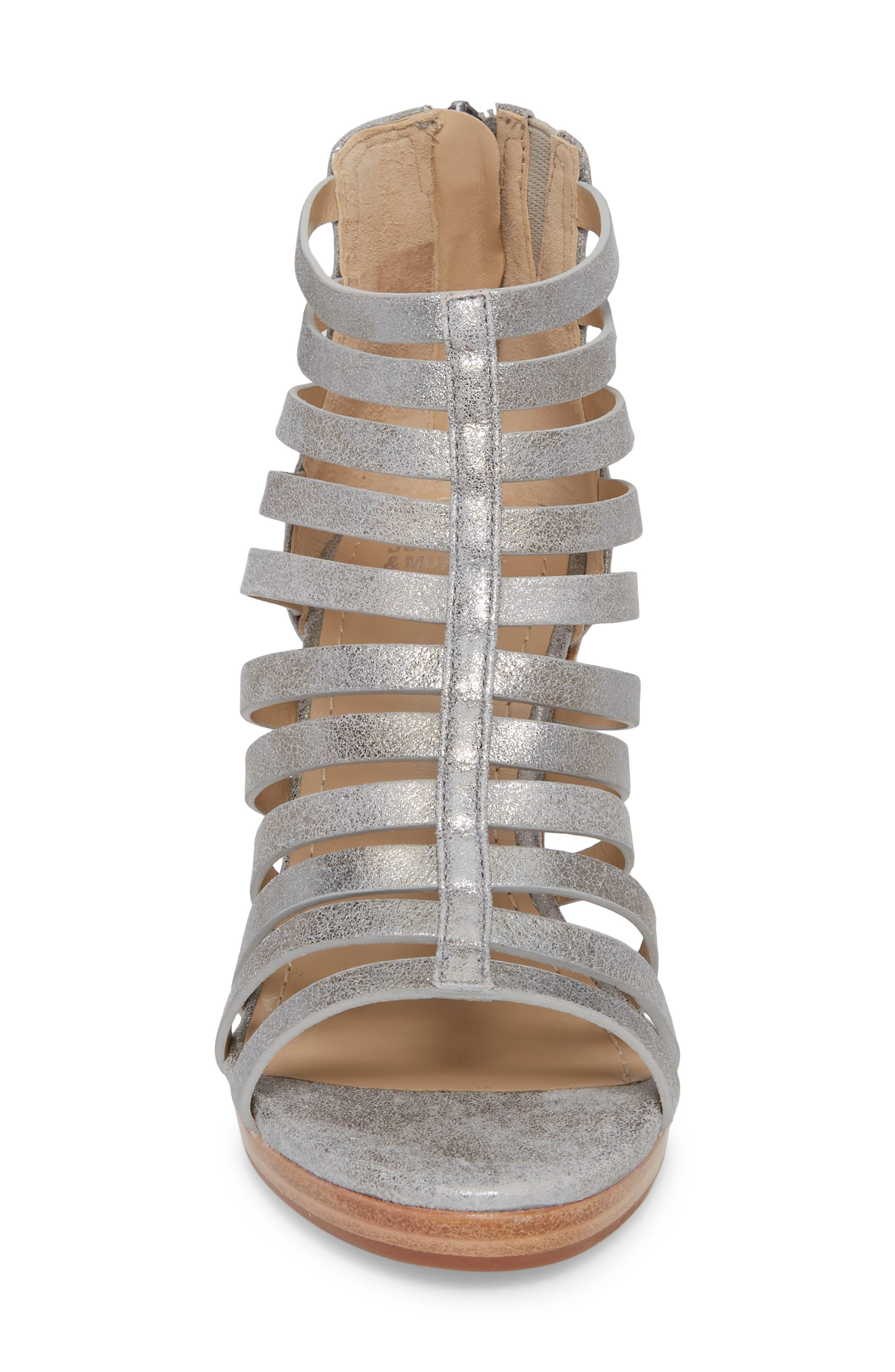 Geneva Strappy Wedge Sandal,                             Alternate thumbnail 7, color,