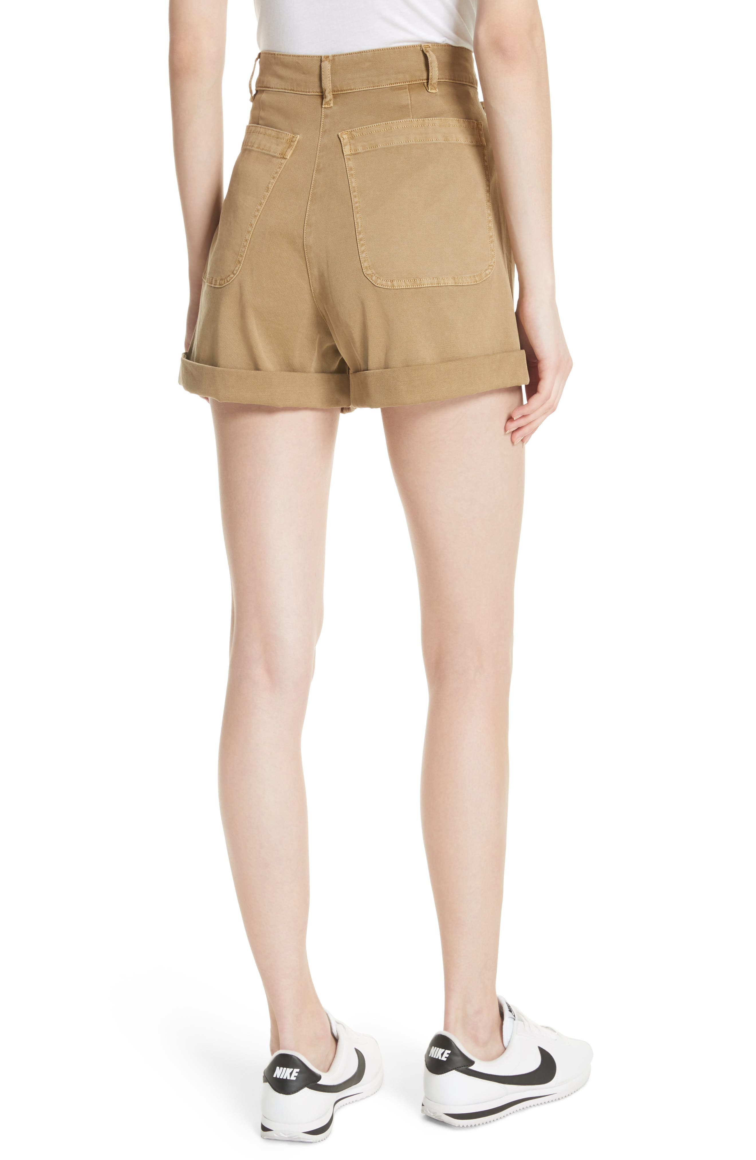 Pierce High Waist Sailor Shorts,                             Alternate thumbnail 2, color,