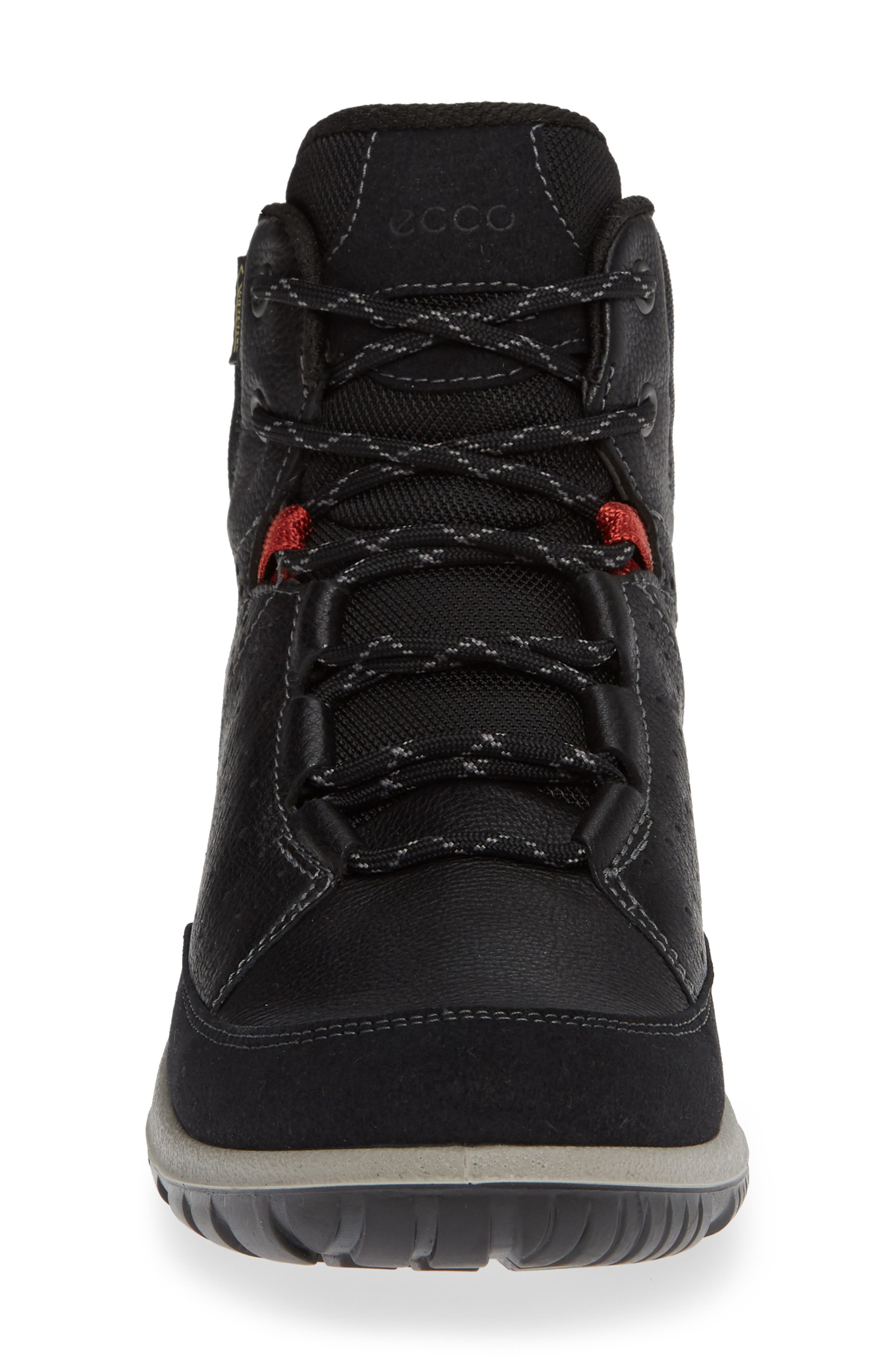 Aspina Gore-Tex<sup>®</sup> Bootie,                             Alternate thumbnail 4, color,                             BLACK LEATHER