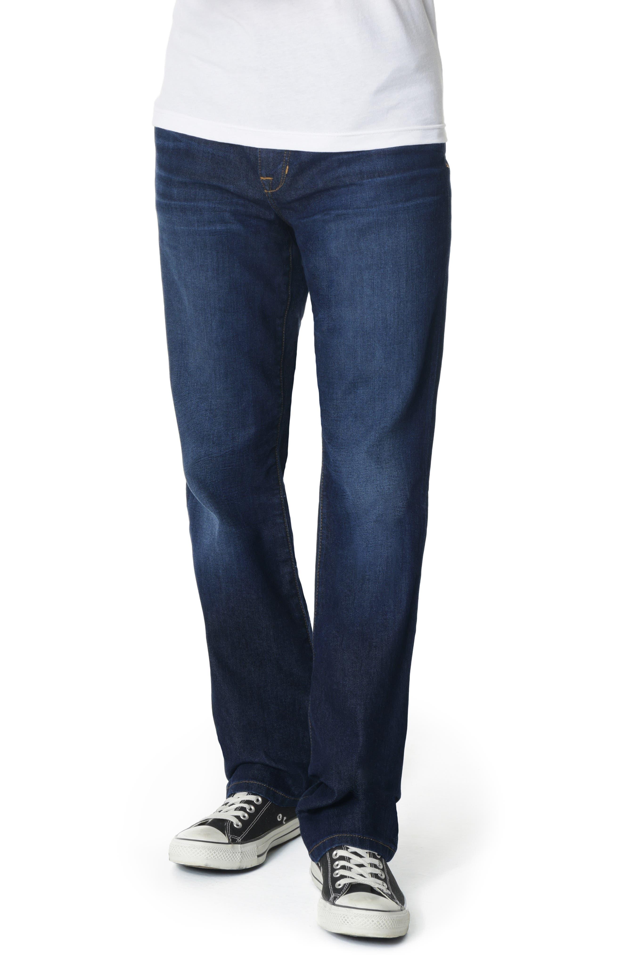 Classic Straight Leg Jeans,                             Main thumbnail 1, color,                             JORDAN