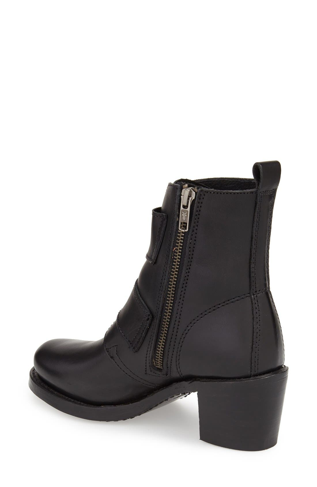 'Sabrina' Double Buckle Boot,                             Alternate thumbnail 9, color,
