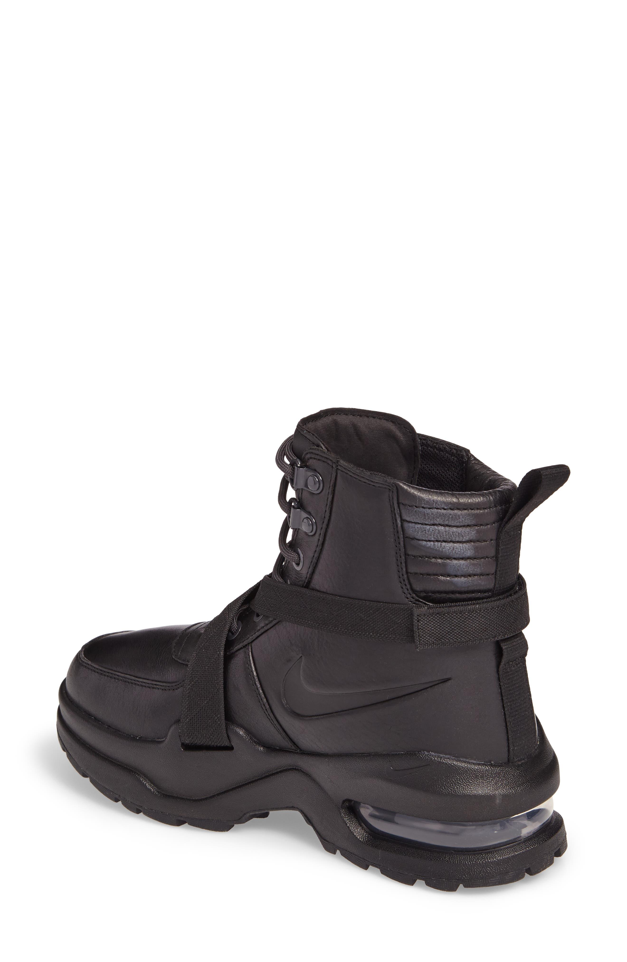 Air Max Goadome Sneaker Boot,                             Alternate thumbnail 2, color,                             BLACK/ ANTHRACITE/ BLACK