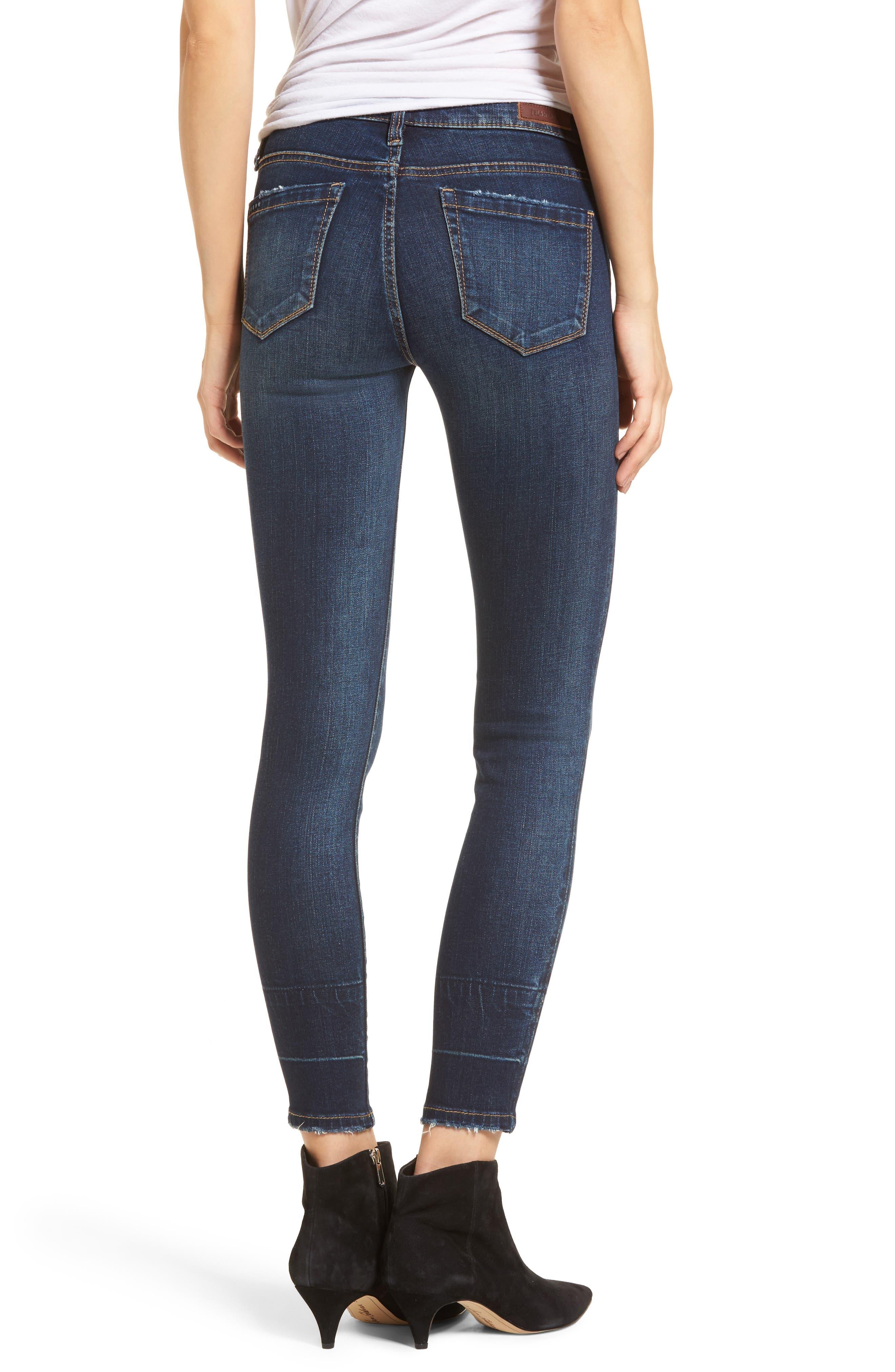 Release Hem Skinny Jeans,                             Alternate thumbnail 2, color,