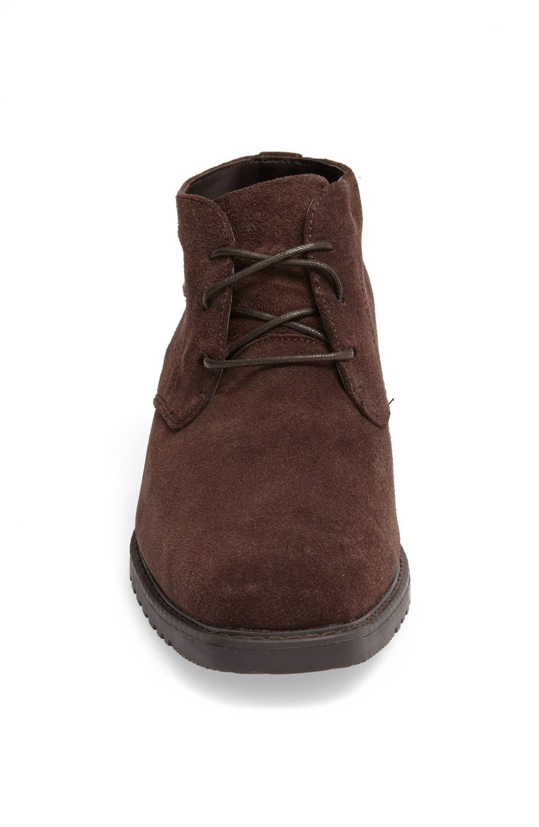 'Griffin' Waterproof Suede Chukka Boot,                             Alternate thumbnail 3, color,                             201