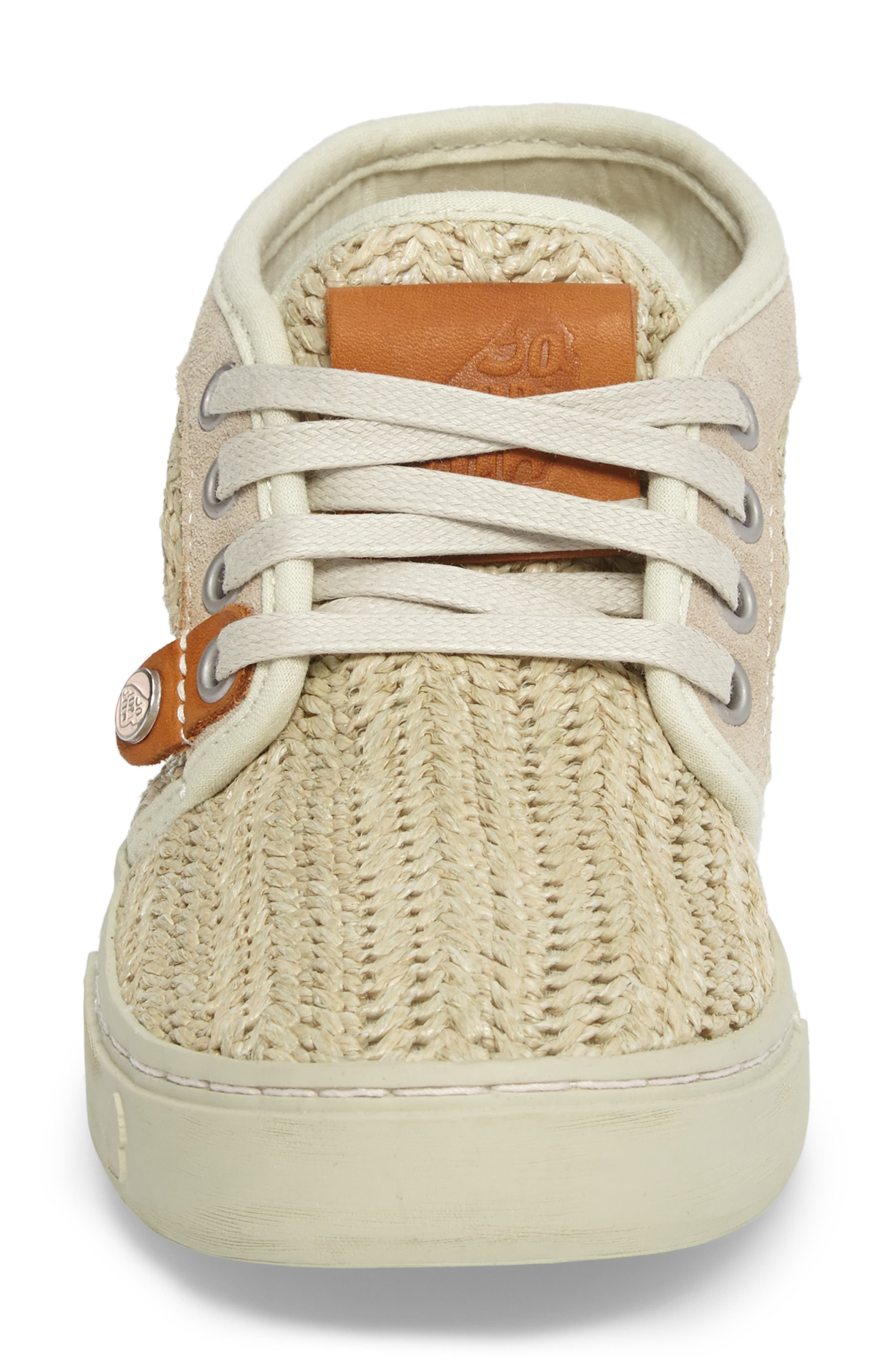 Hamoru Woven High Top Sneaker,                             Alternate thumbnail 4, color,                             YESO FABRIC