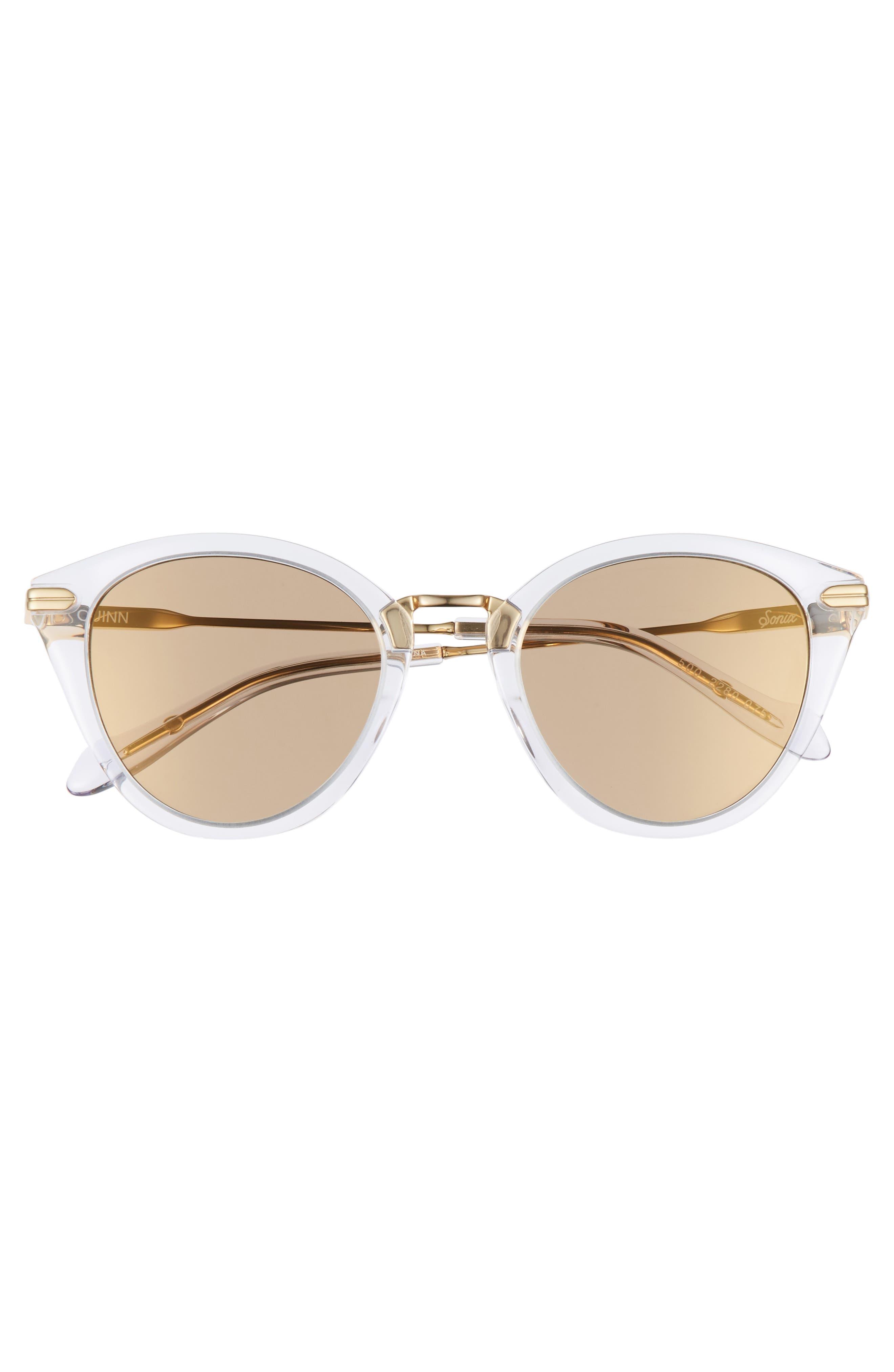Quinn 48mm Cat Eye Sunglasses,                             Alternate thumbnail 10, color,