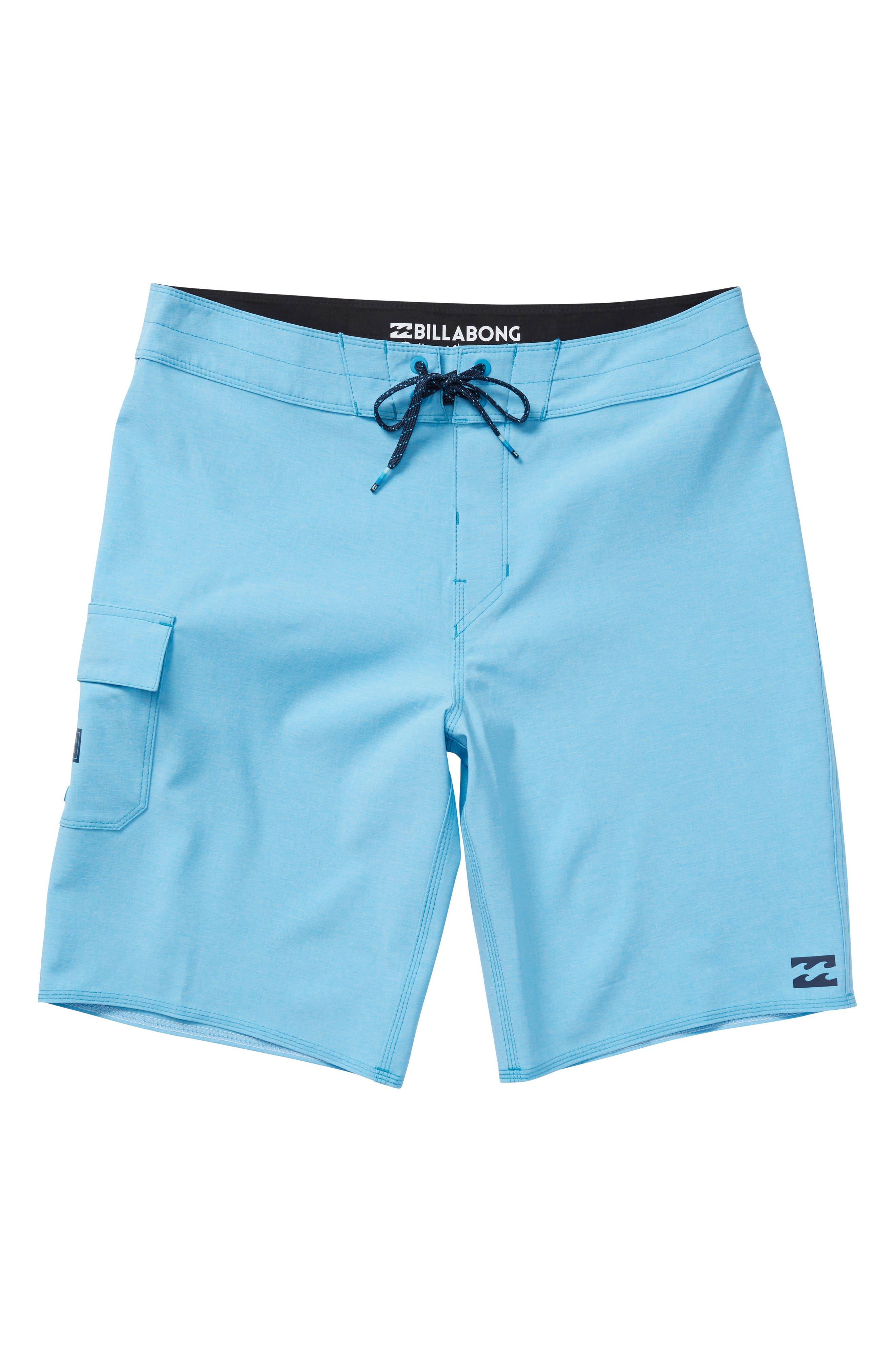 All Day X Board Shorts,                         Main,                         color, BLUE HEATHER