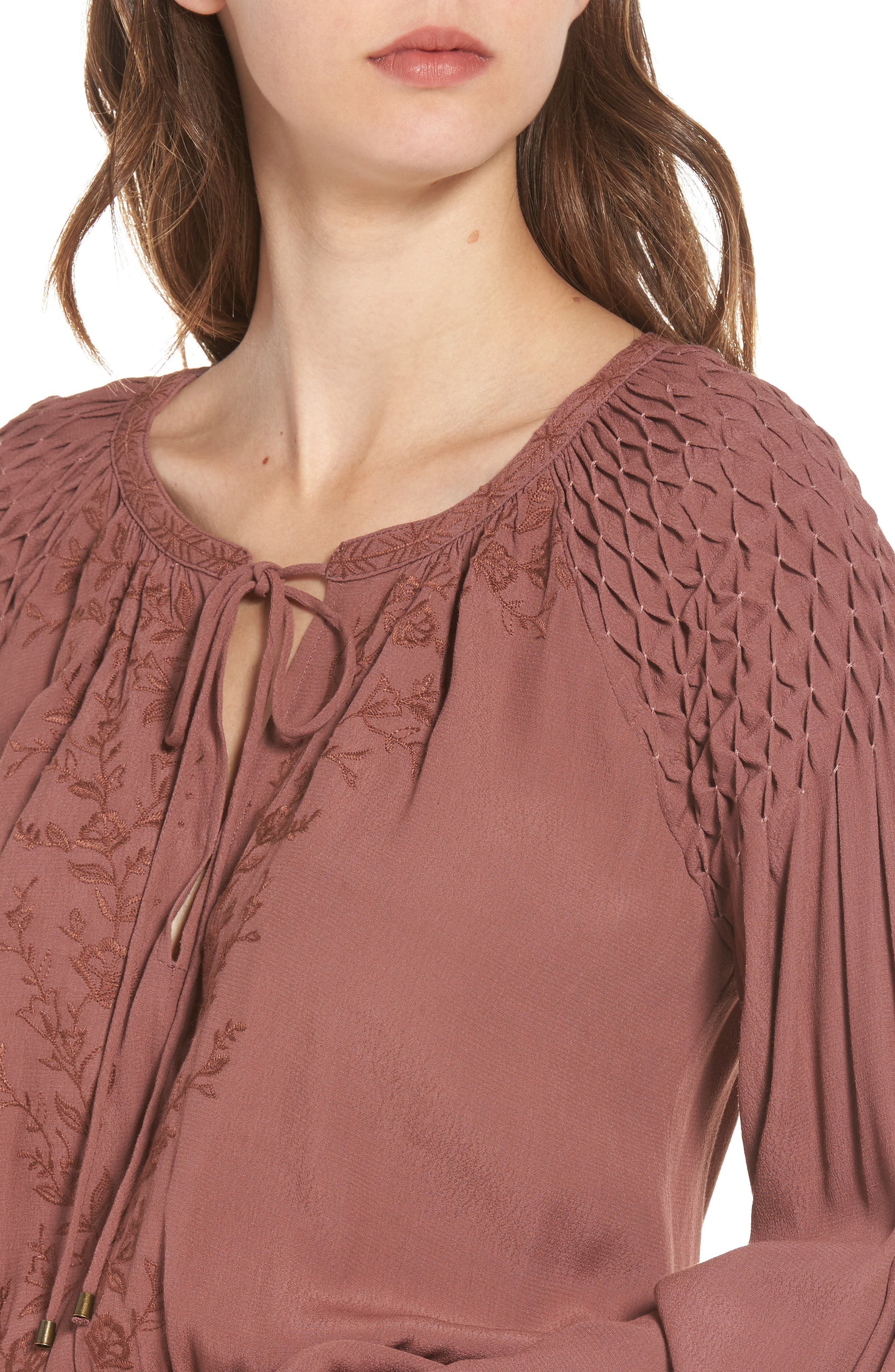 Melinda Blouson Dress,                             Alternate thumbnail 8, color,