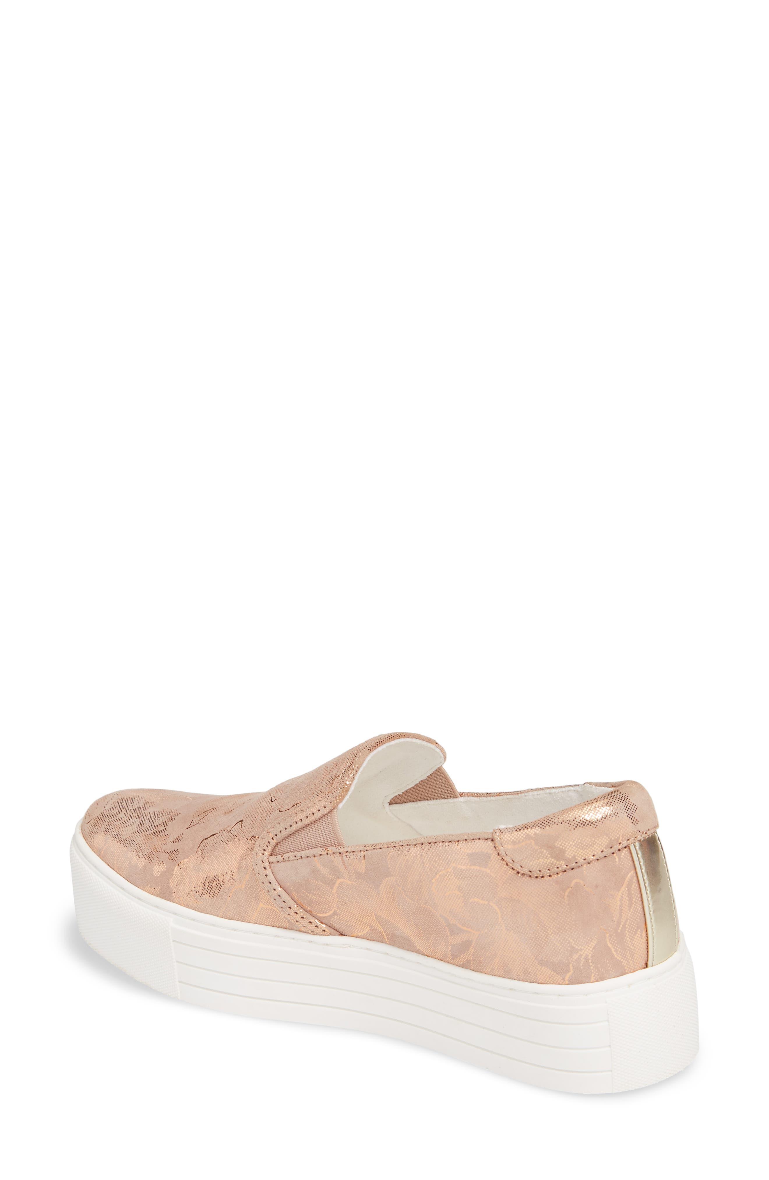 Joanie Slip-On Platform Sneaker,                             Alternate thumbnail 18, color,