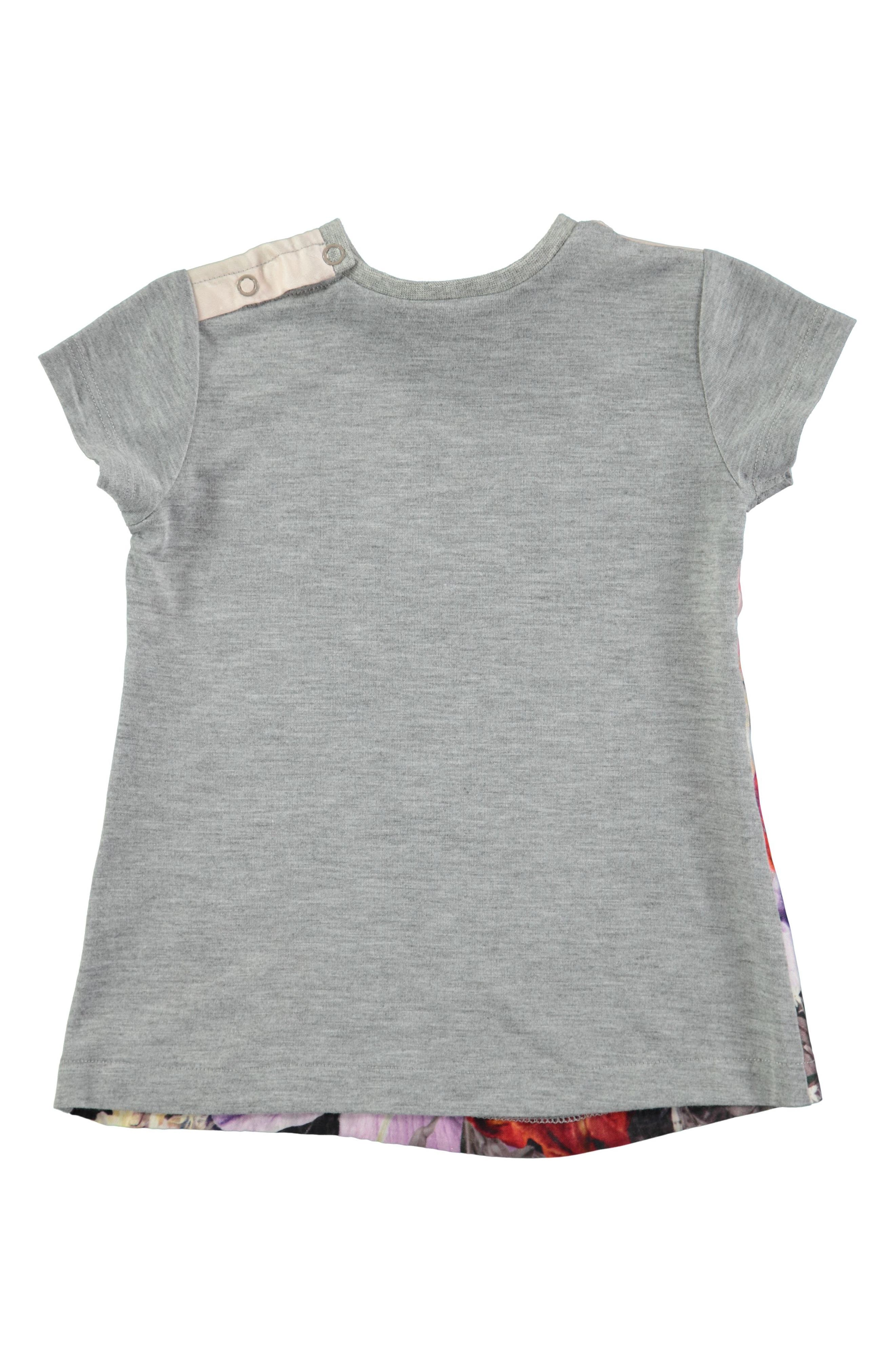 Corina Print Short Sleeve Dress,                             Alternate thumbnail 2, color,                             020