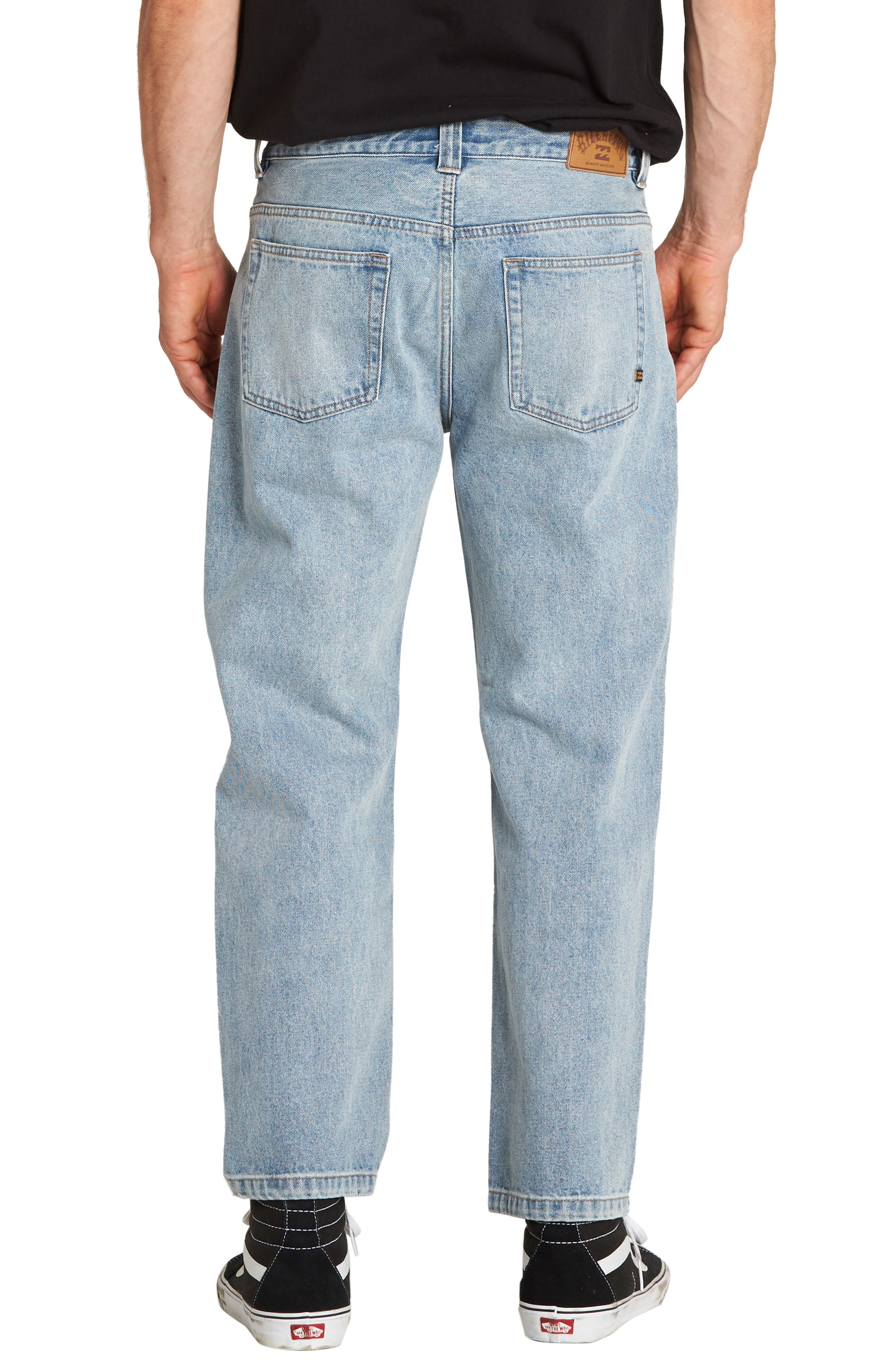 Fifty Crop Jeans,                             Alternate thumbnail 2, color,                             INDIGO BLEACH