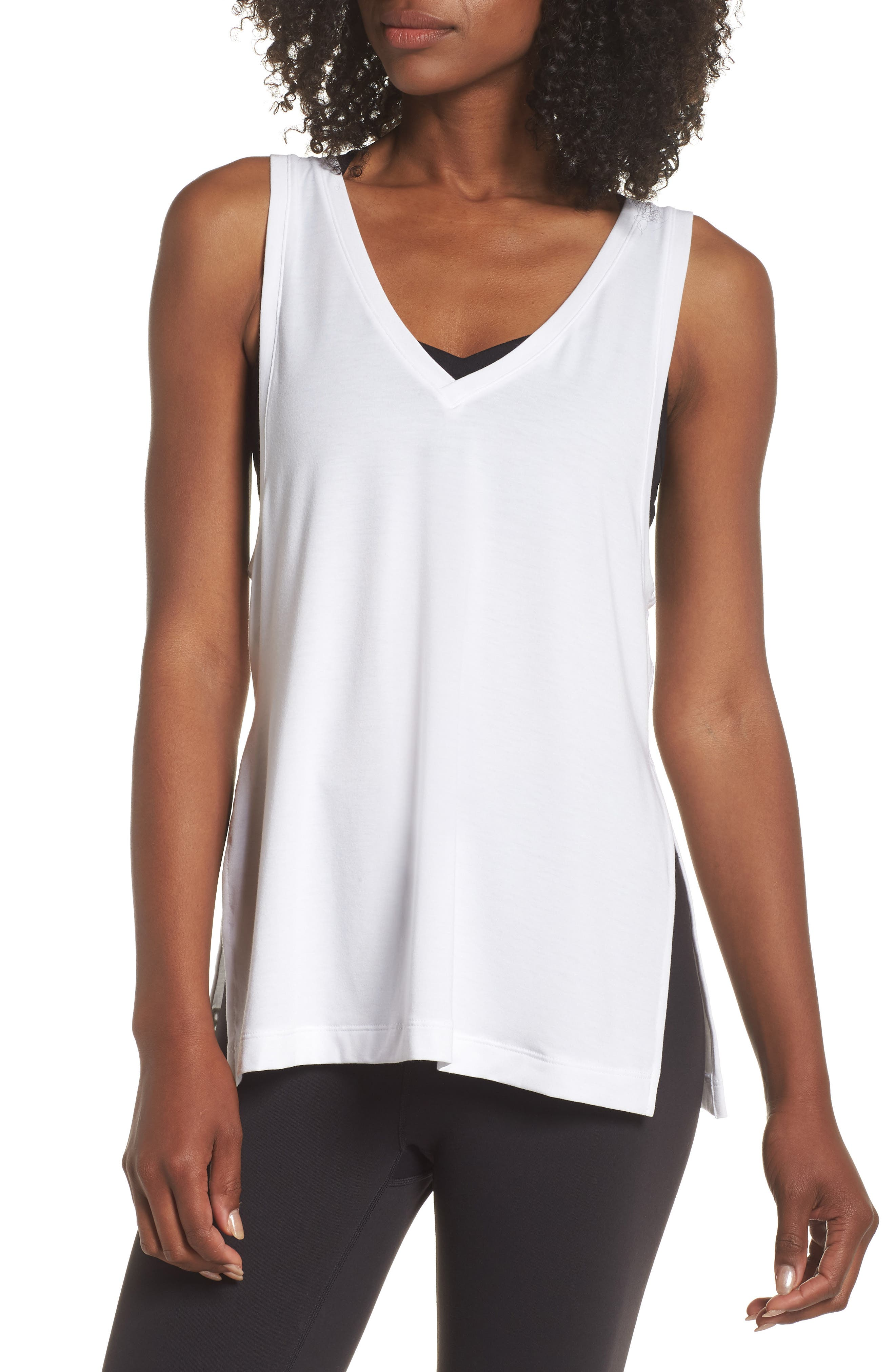 Transform Two-Way Tank,                             Main thumbnail 1, color,                             WHITE