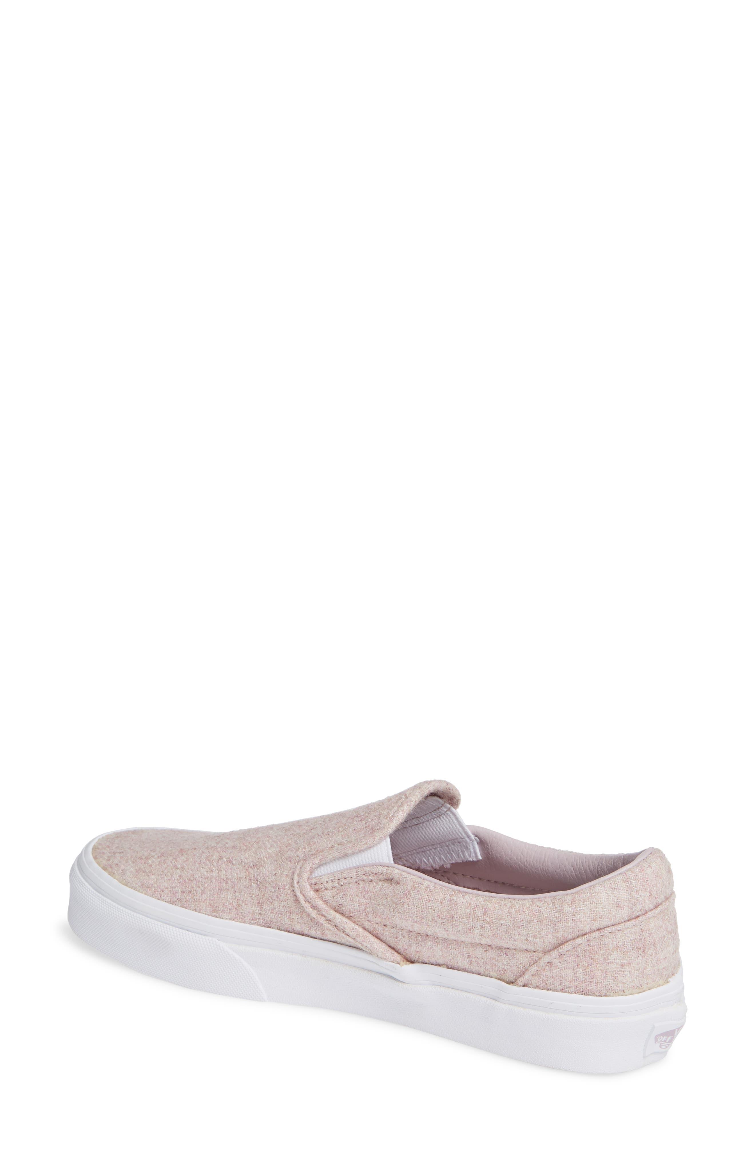 Classic Slip-On Sneaker,                             Alternate thumbnail 2, color,                             VIOLET ICE/ TRUE WHITE