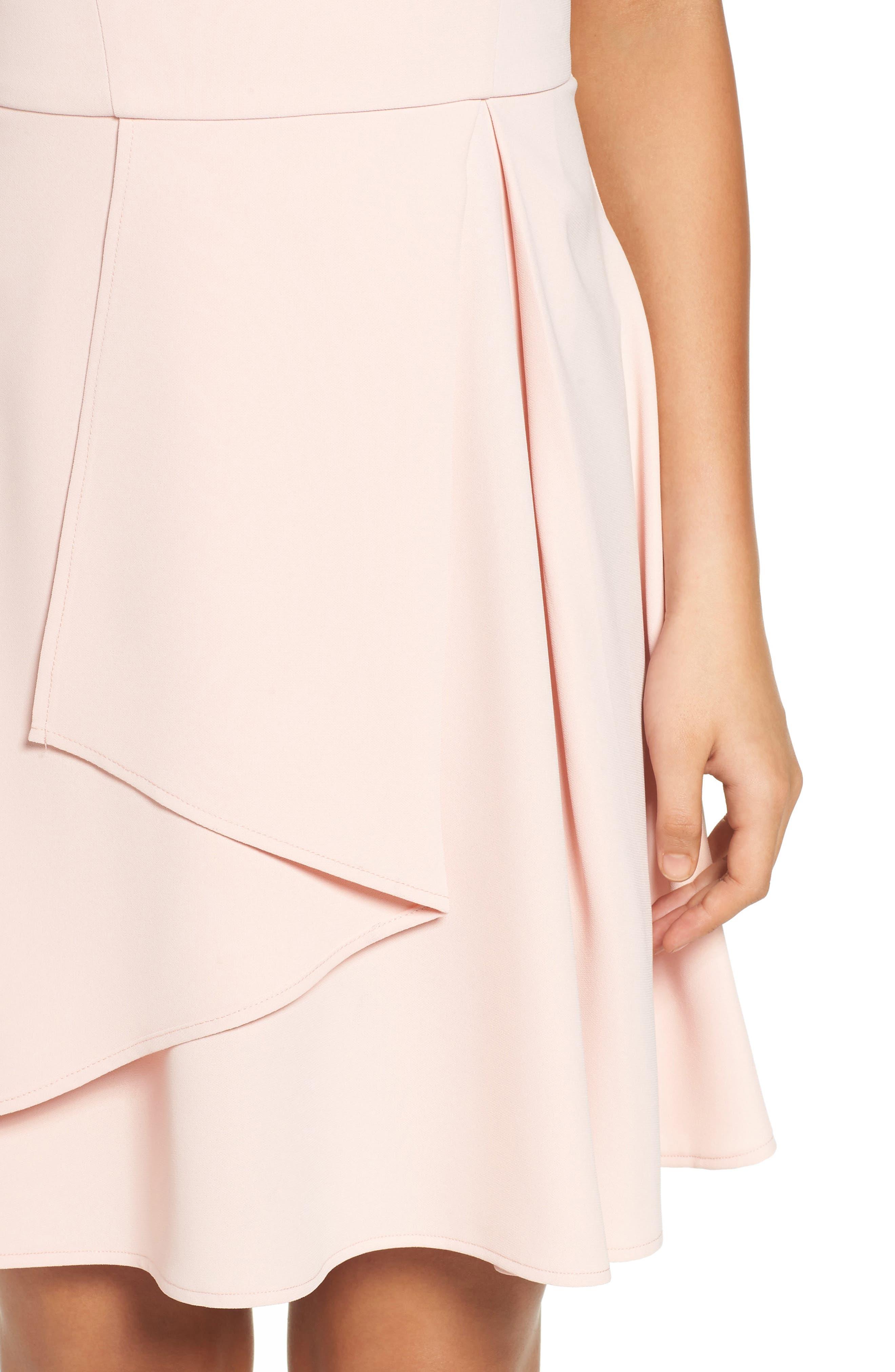 Athena Fit & Flare Dress,                             Alternate thumbnail 16, color,