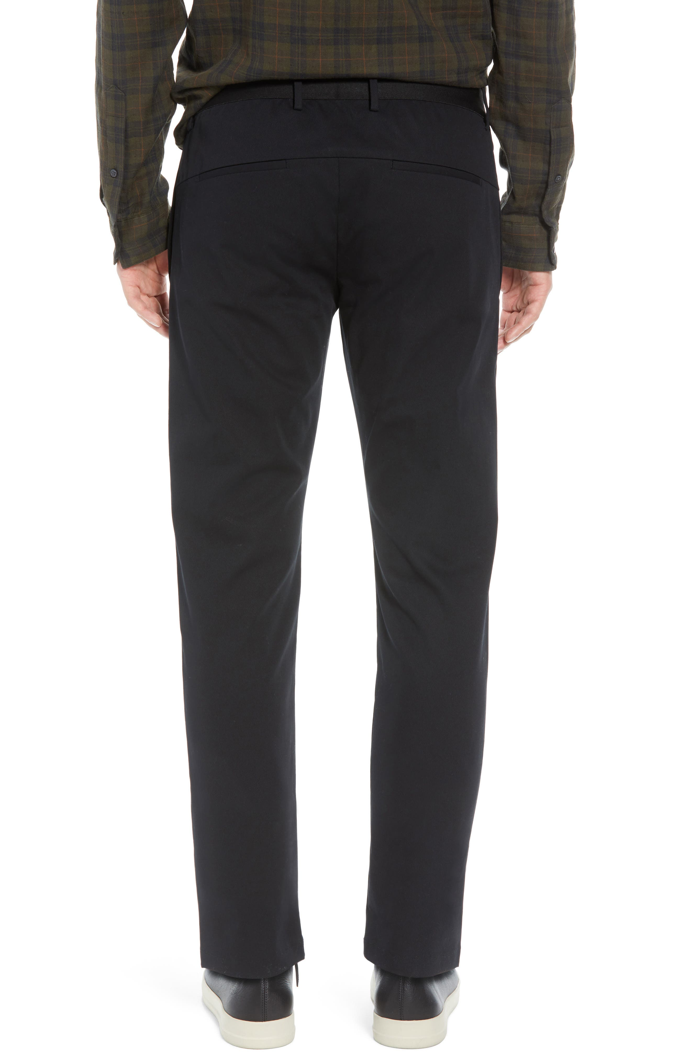Slater Classic Fit Chinos,                             Alternate thumbnail 2, color,                             BLACK