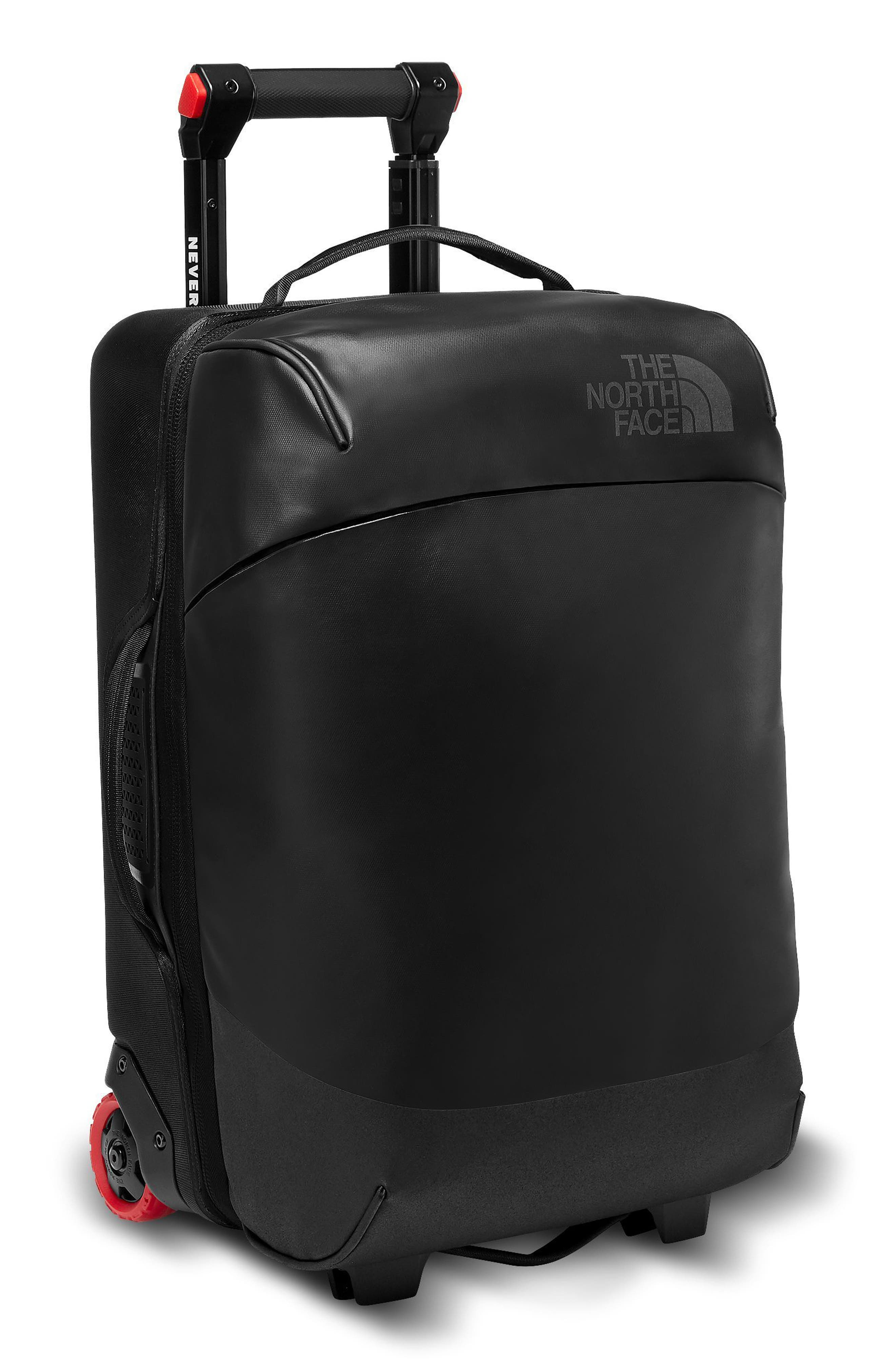 Stratoliner 20-Inch Medium Wheeled Carry-On,                         Main,                         color, TNF BLACK