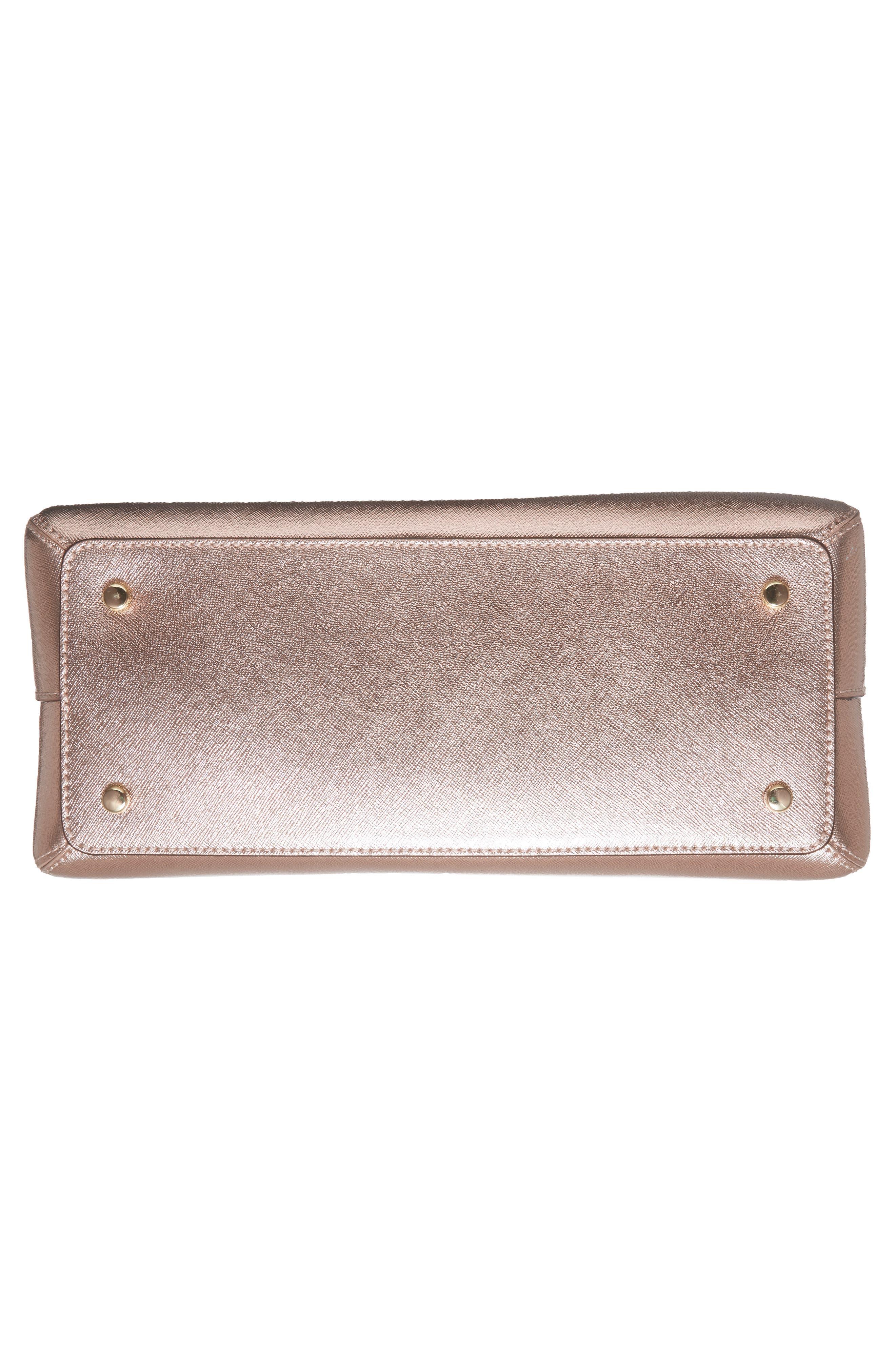 cameron street - lottie leather satchel,                             Alternate thumbnail 6, color,                             650