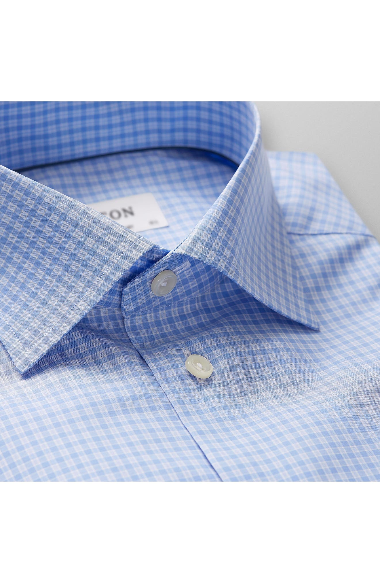 Contemporary Fit Check Dress Shirt,                             Alternate thumbnail 2, color,                             400