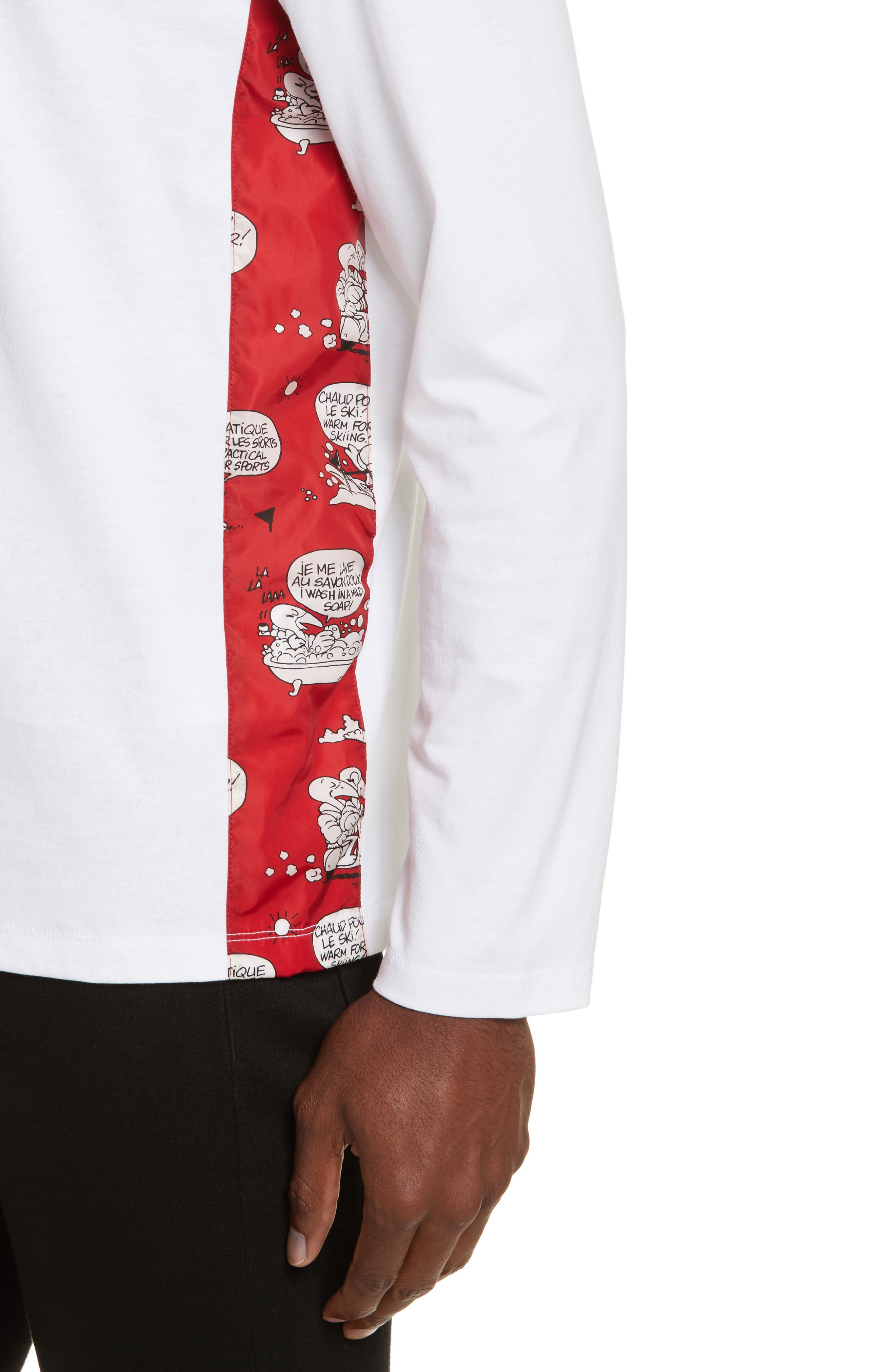 Maglia Griccollo Long Sleeve T-Shirt,                             Alternate thumbnail 4, color,                             100