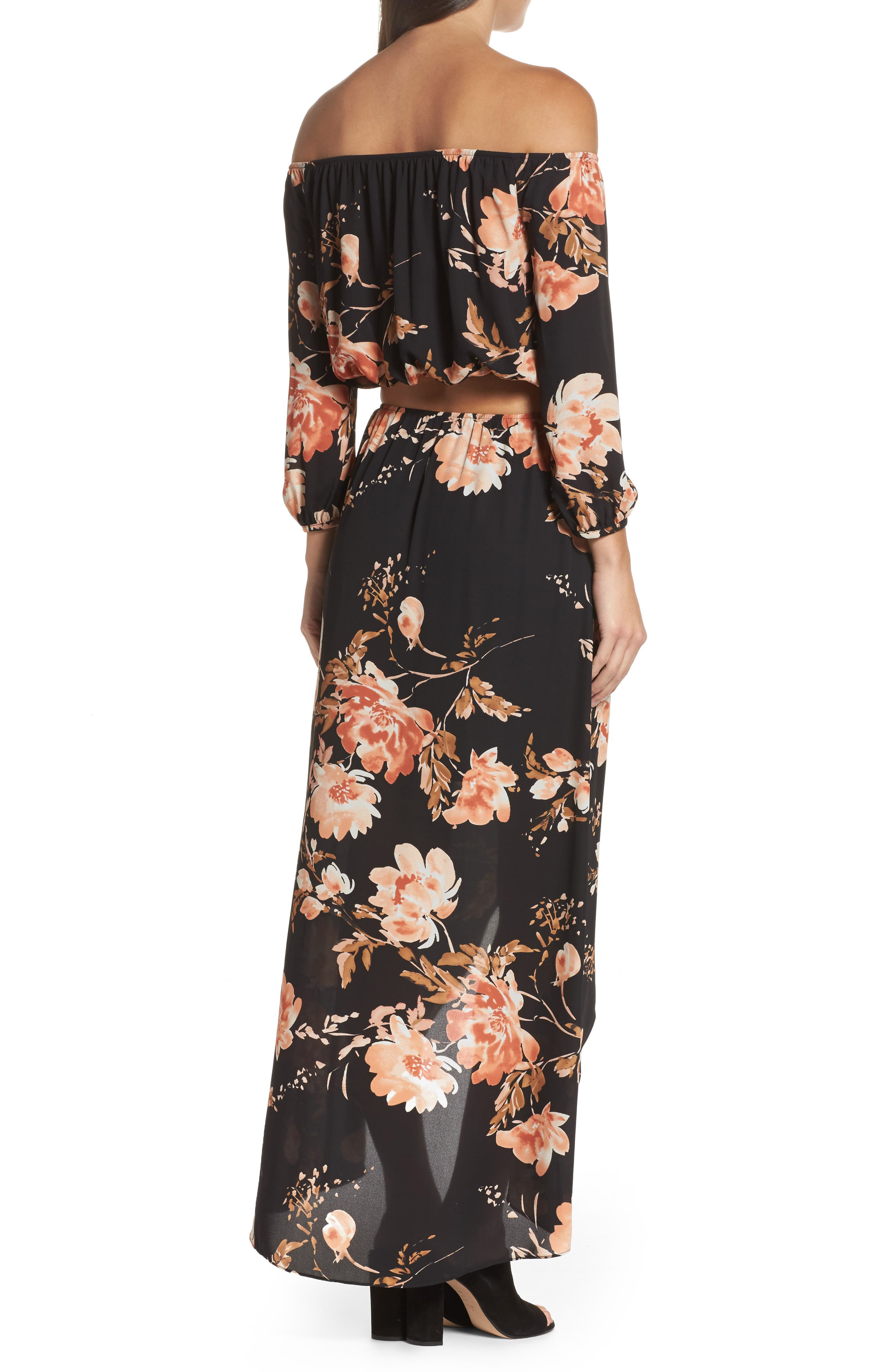ALI & JAY,                             Floral Fever Two-Piece Dress,                             Alternate thumbnail 2, color,                             500