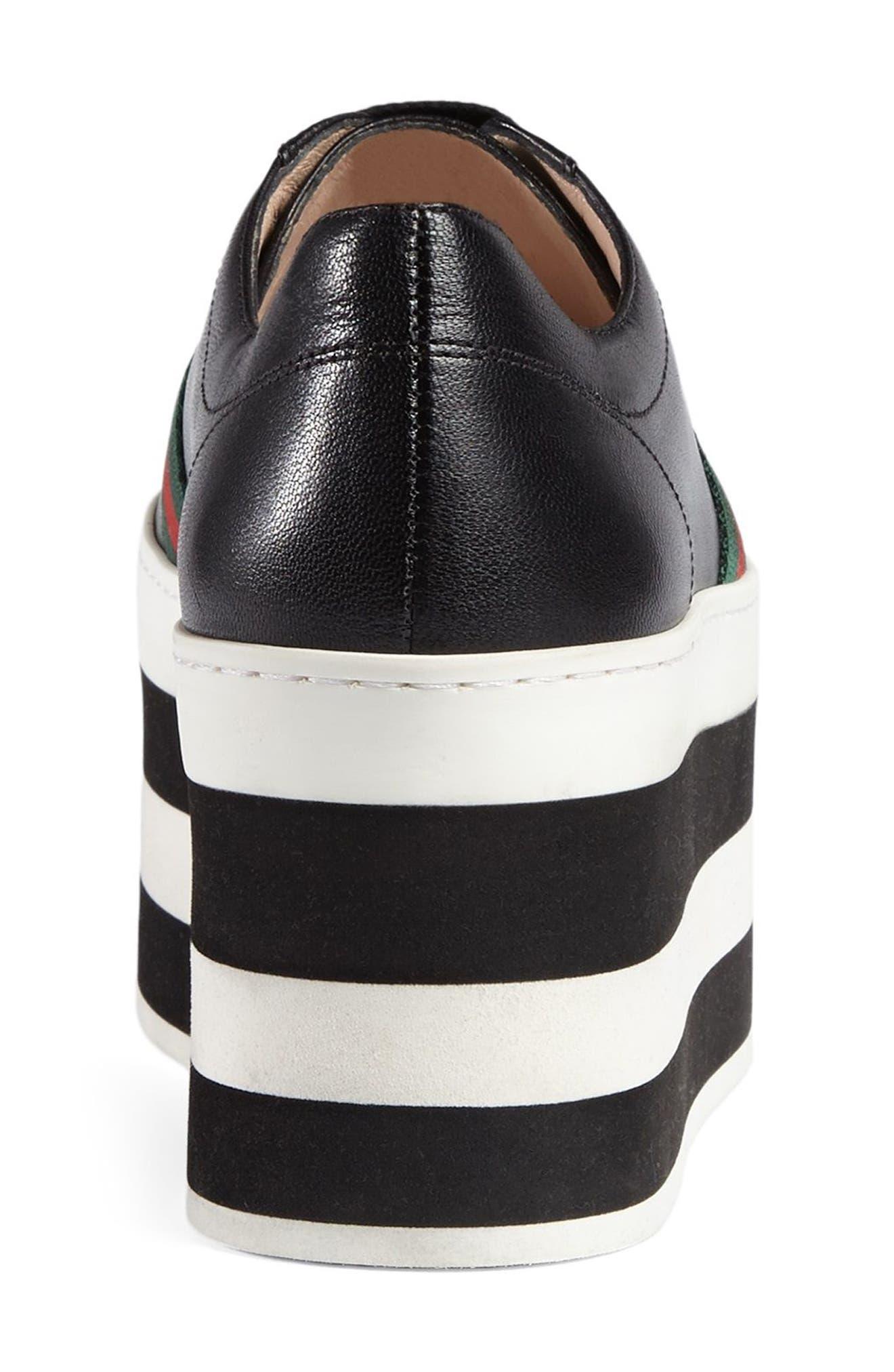 Peggy Flatform Sneaker,                             Alternate thumbnail 2, color,                             001