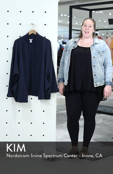 Knit Roll Sleeve Blazer, sales video thumbnail