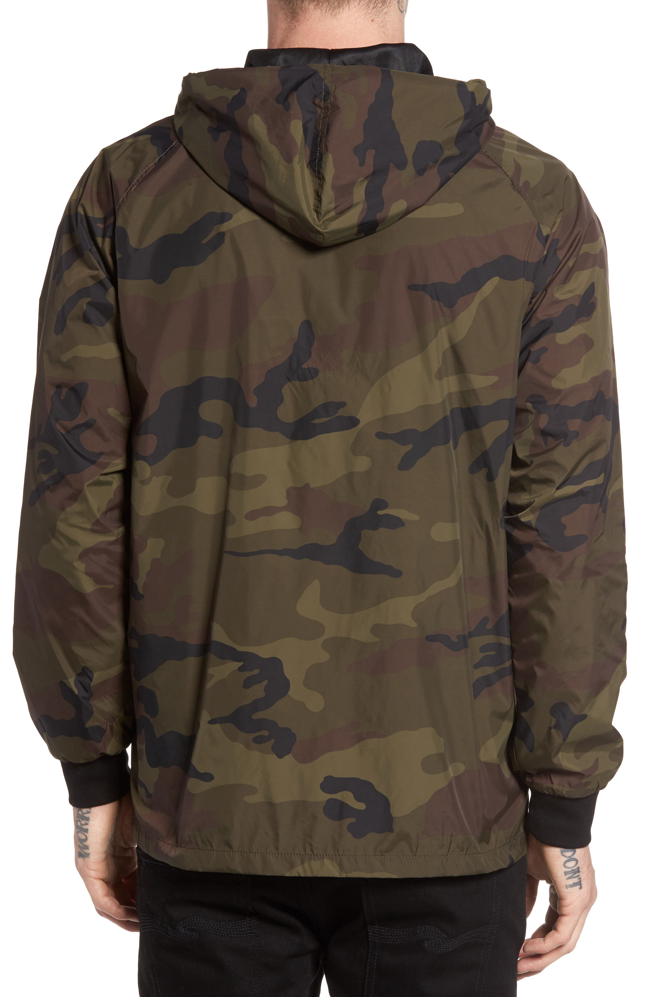 Next Round 2 Hooded Coach Jacket,                             Alternate thumbnail 3, color,                             305