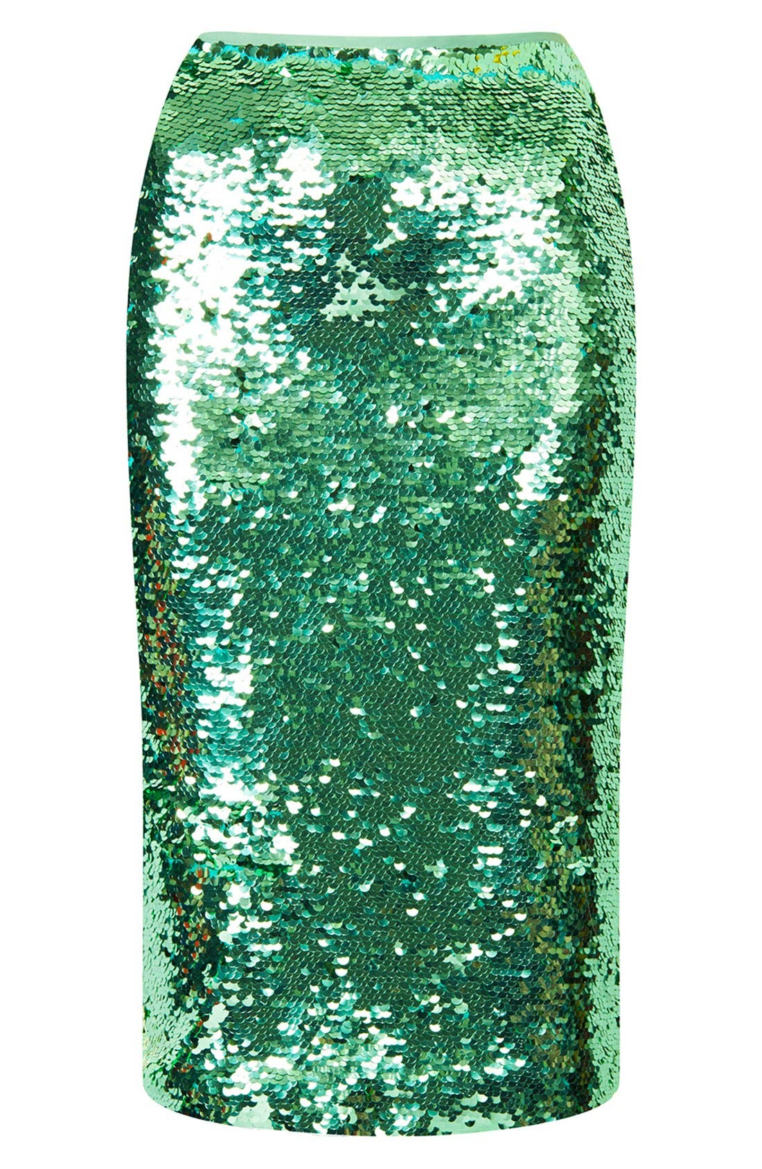 Sequin Pencil Skirt,                             Alternate thumbnail 2, color,                             330