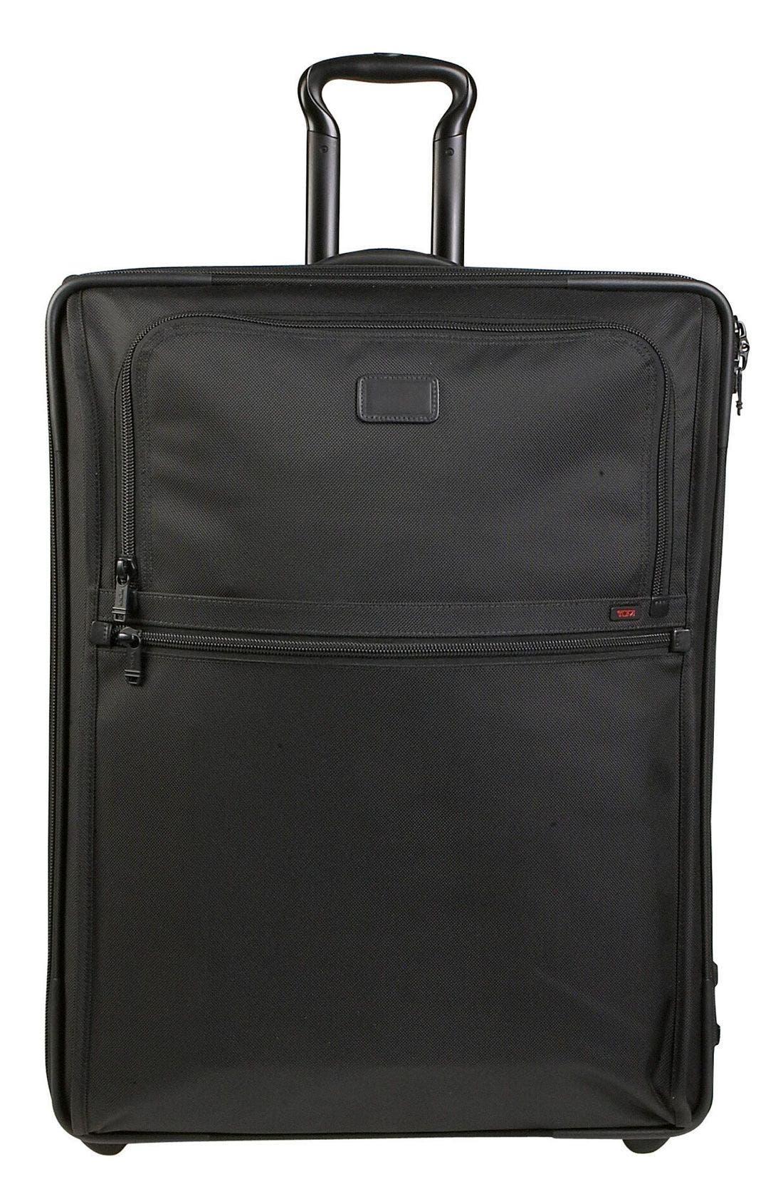 'Alpha - Medium' Wheeled Expandable Bag,                             Main thumbnail 1, color,                             001