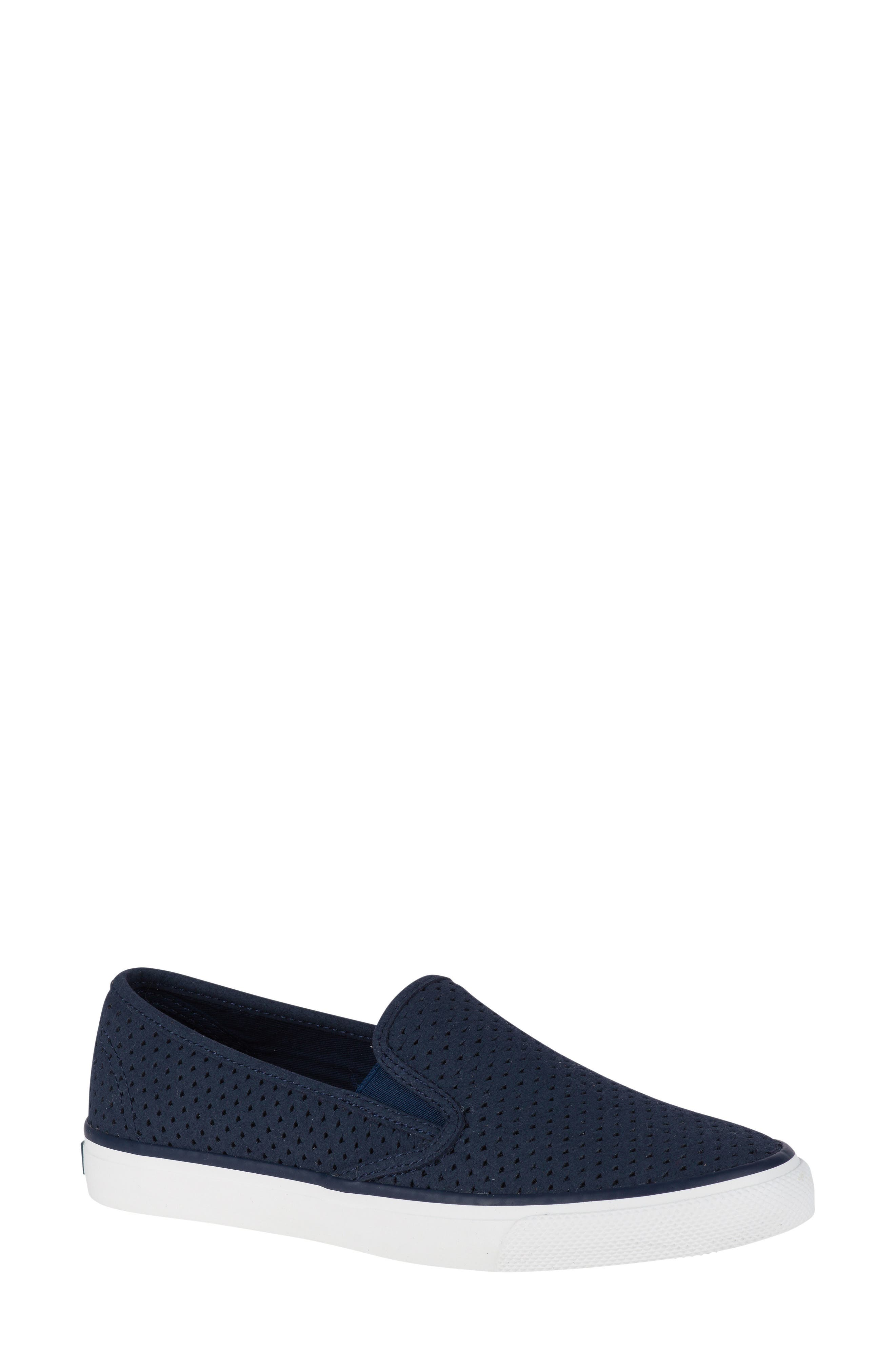 'Seaside' Perforated Slip-On Sneaker,                             Main thumbnail 9, color,