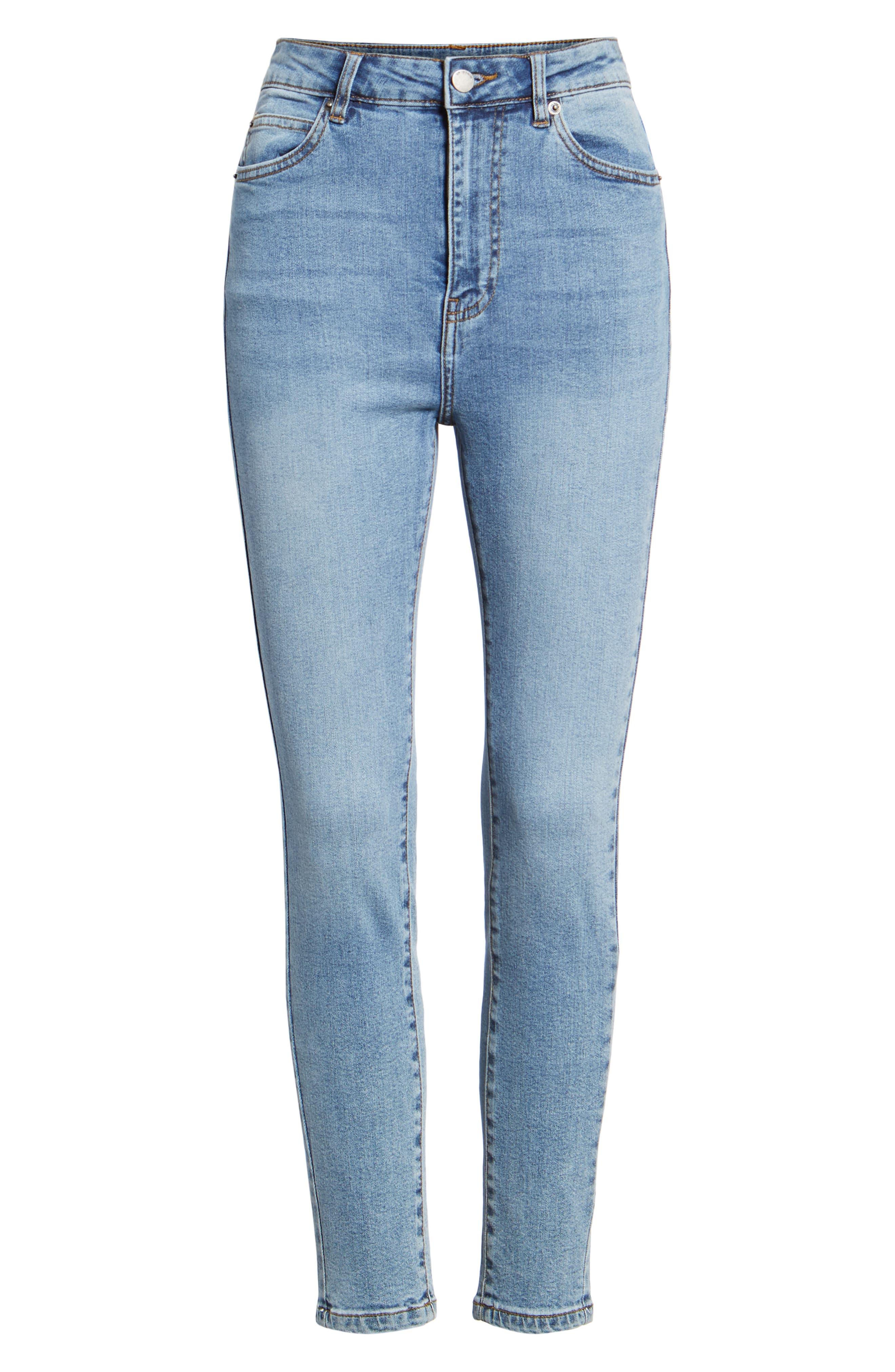 DR. DENIM SUPPLY CO.,                             Copacabana Crop Skinny Jeans,                             Alternate thumbnail 7, color,                             400