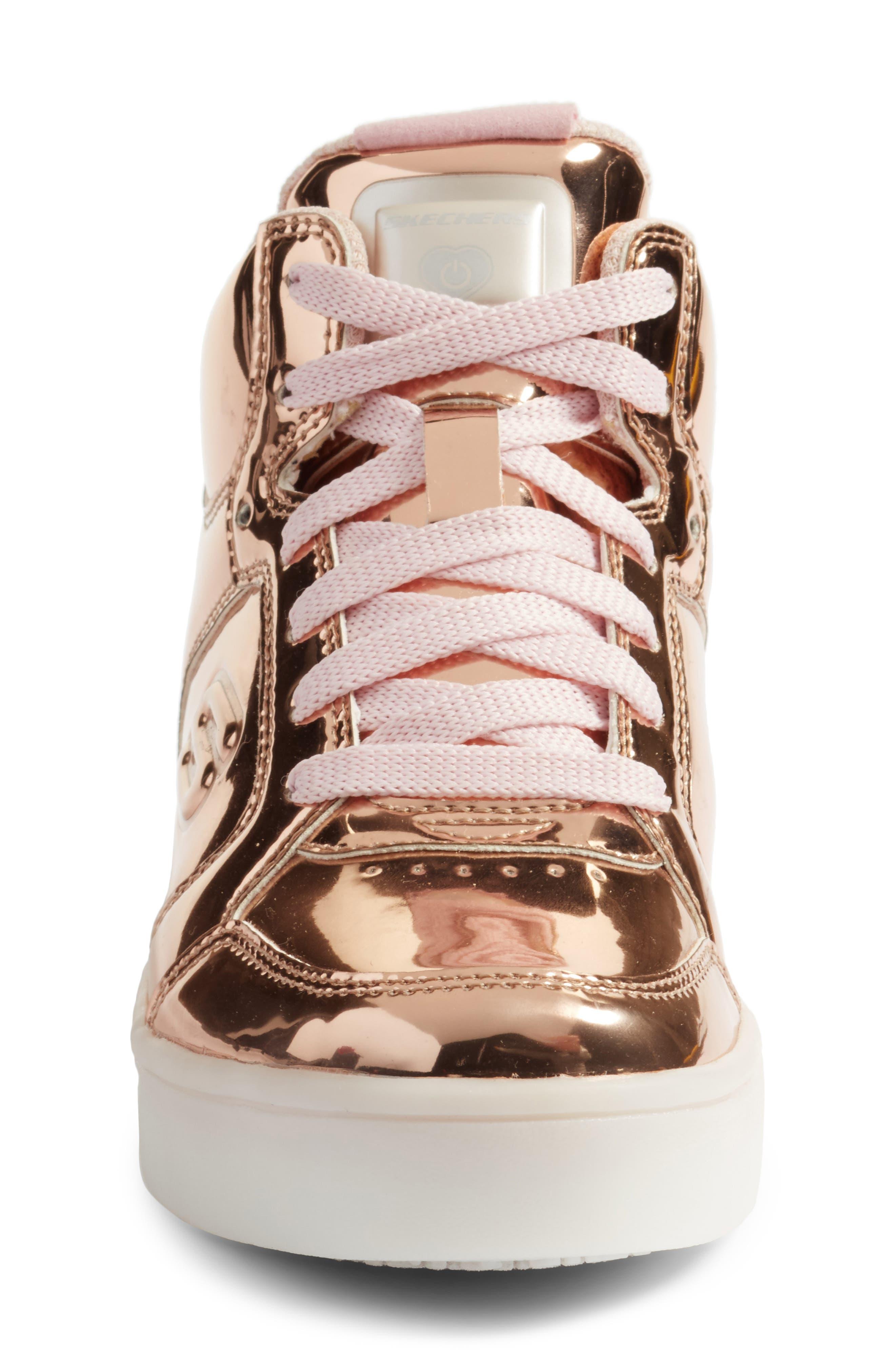 Energy Lights Metallic High Top Sneaker,                             Alternate thumbnail 13, color,