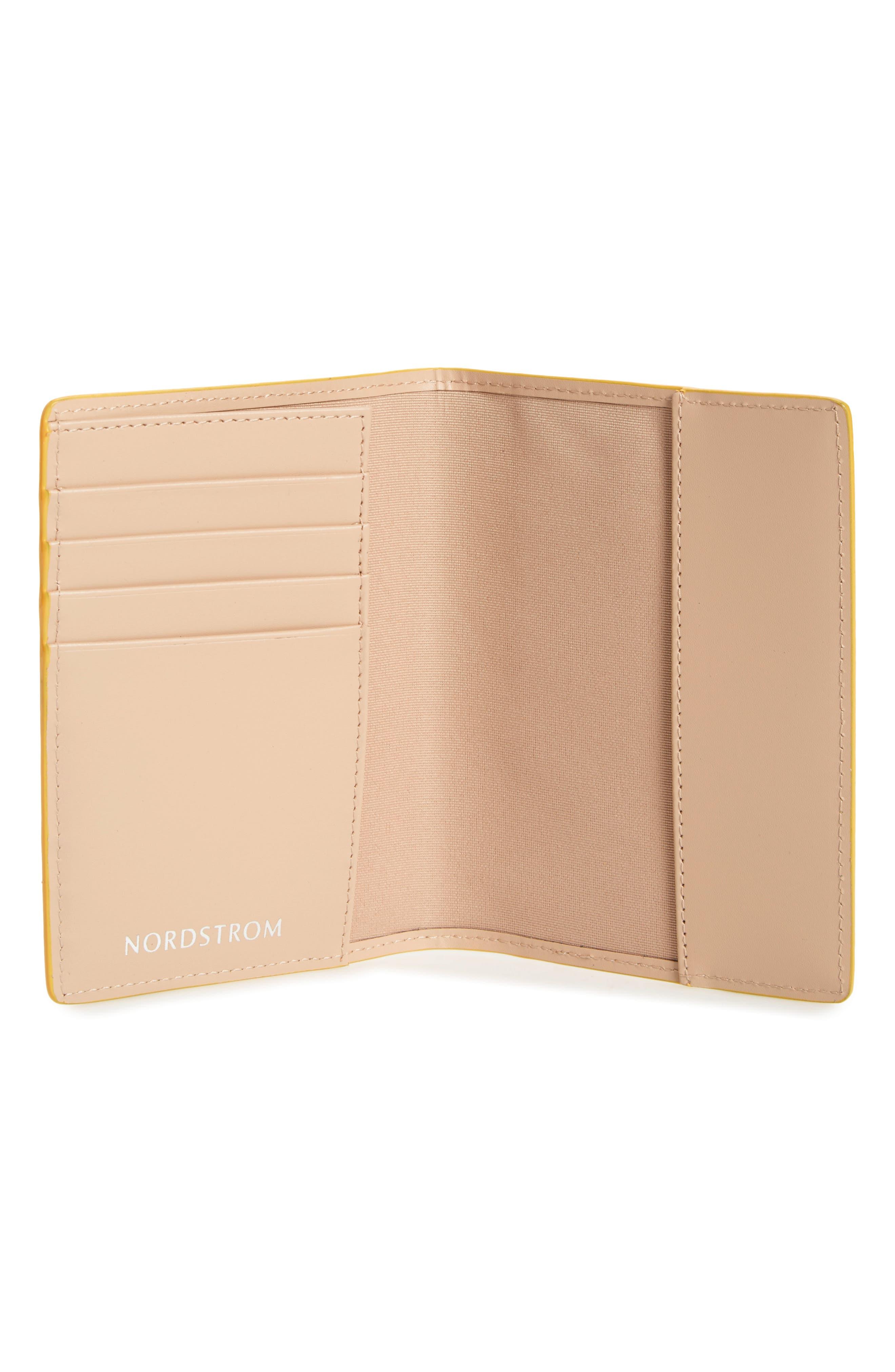 Leather Passport Case,                             Alternate thumbnail 18, color,