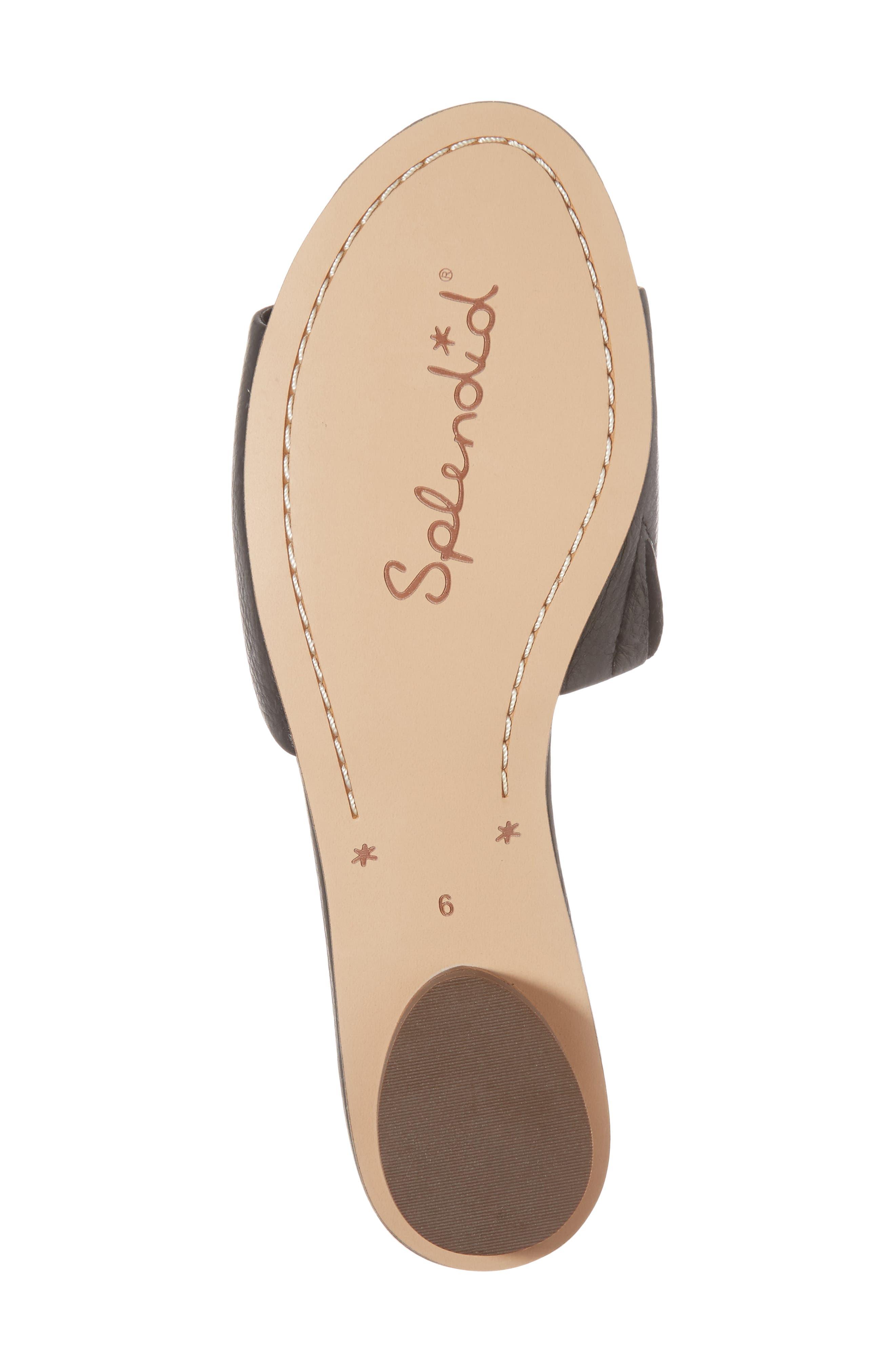 Betsy Slide Sandal,                             Alternate thumbnail 6, color,                             002