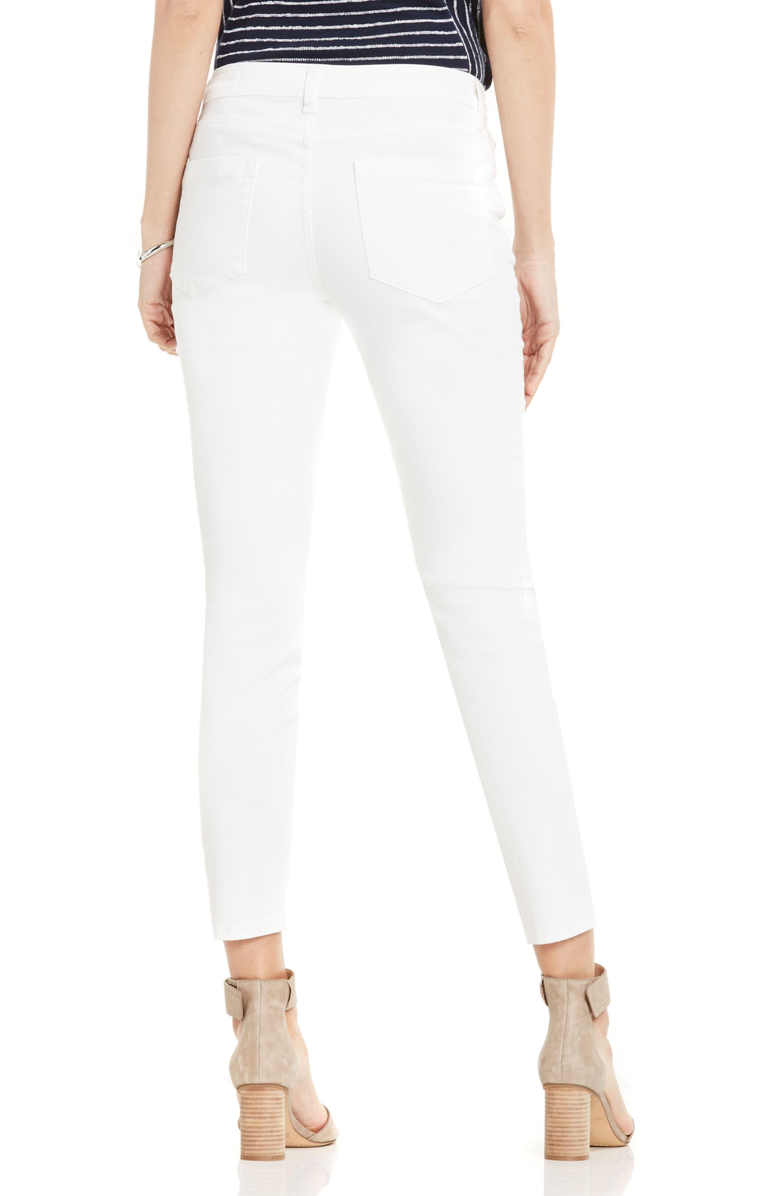 Skinny Jeans,                             Alternate thumbnail 2, color,                             ULTRA WHITE