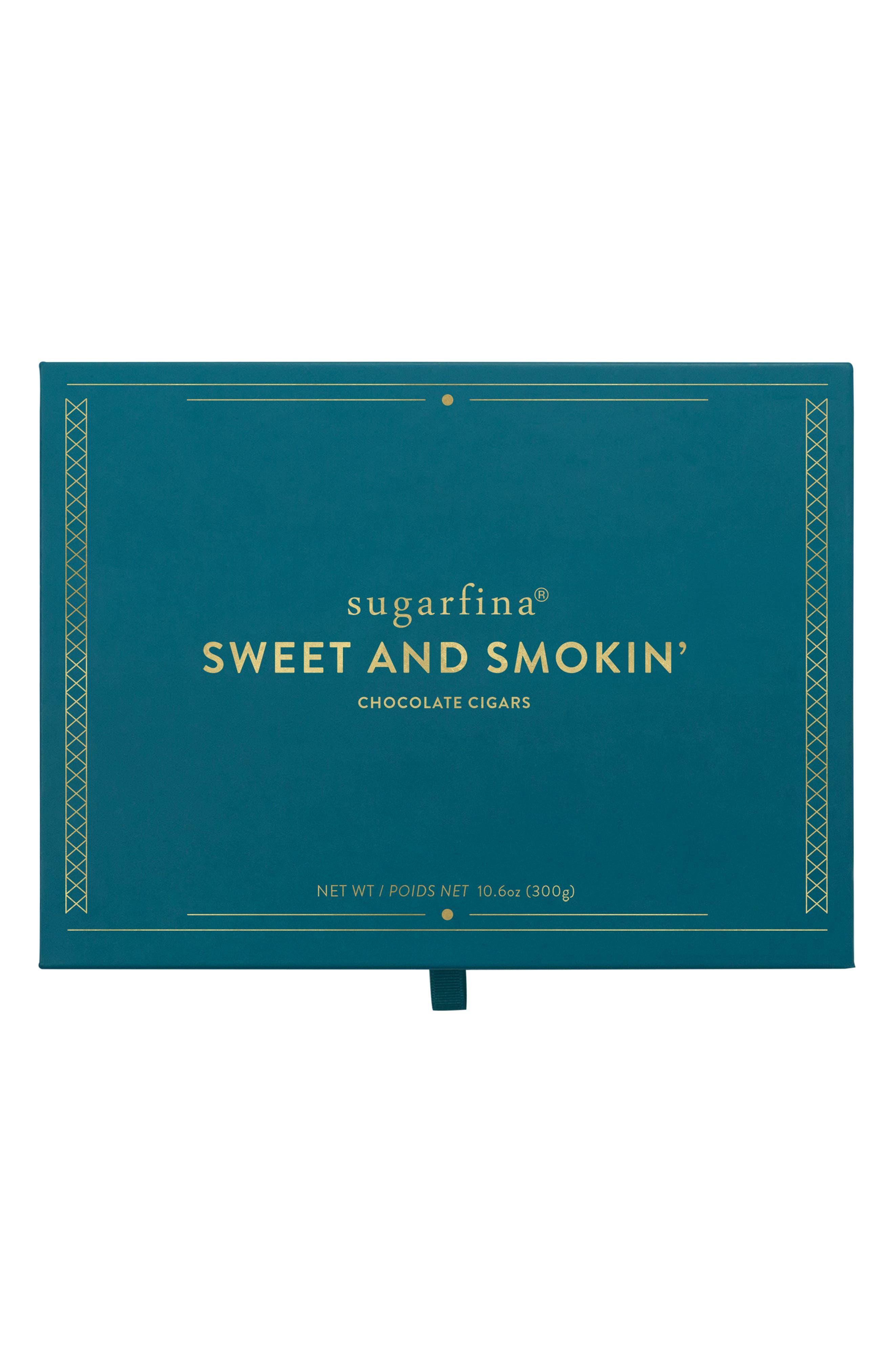 Sweet & Smokin' 3-Piece Chocolate Cigar Box,                             Alternate thumbnail 2, color,                             BLUE